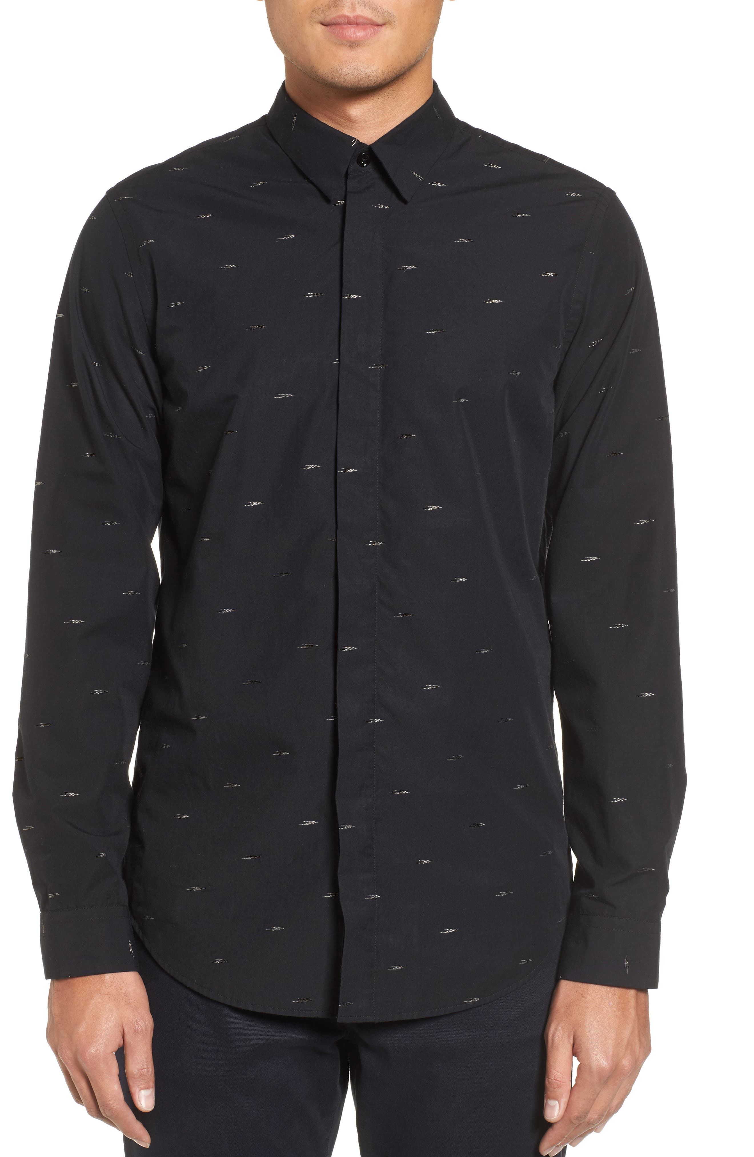 Main Image - Theory Levy Regular Fit Sport Shirt