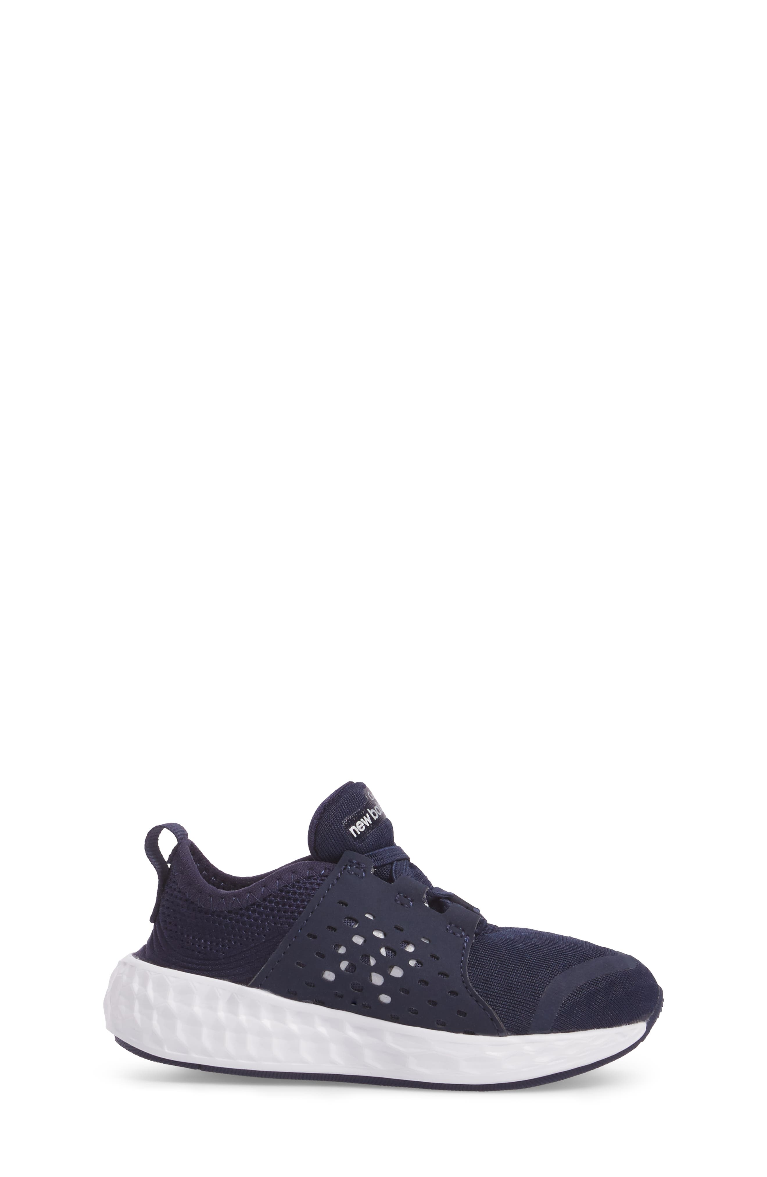 Cruz Sport Sneaker,                             Alternate thumbnail 3, color,                             Navy/ White