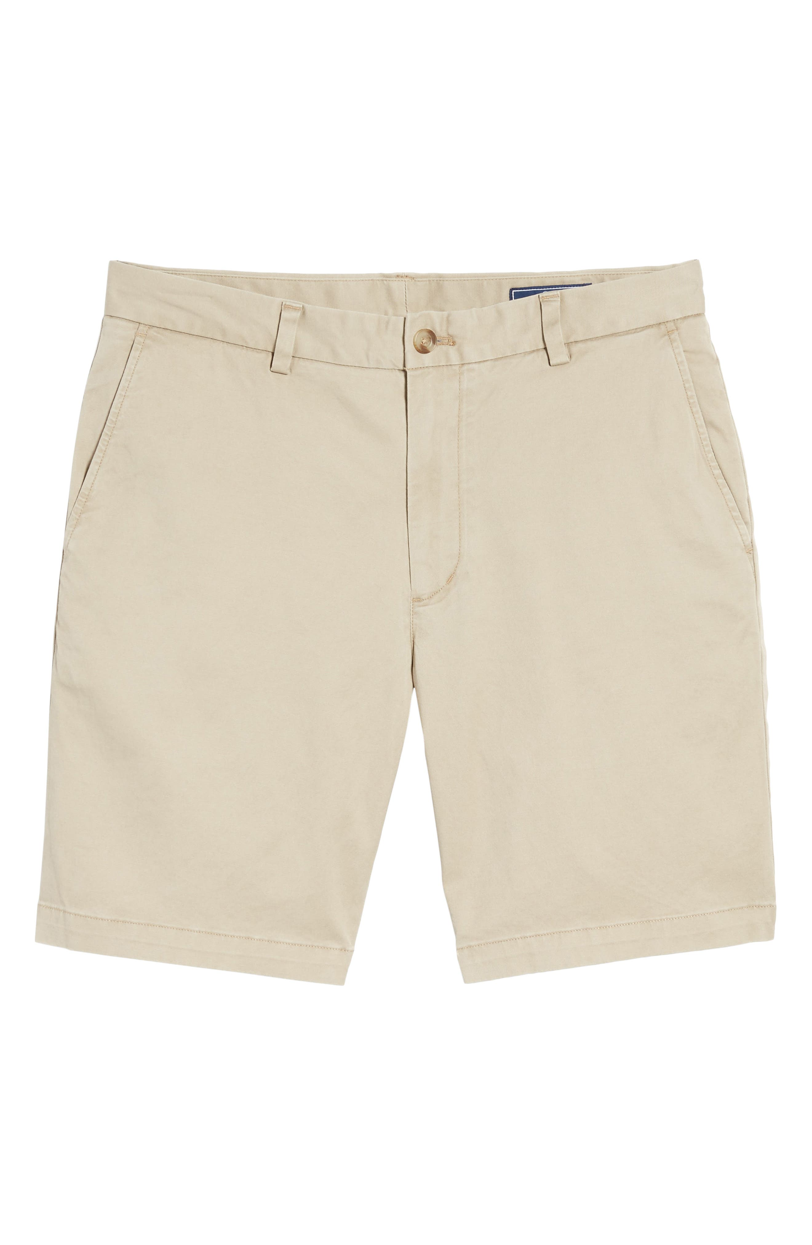9 Inch Stretch Breaker Shorts,                             Alternate thumbnail 6, color,                             Khaki