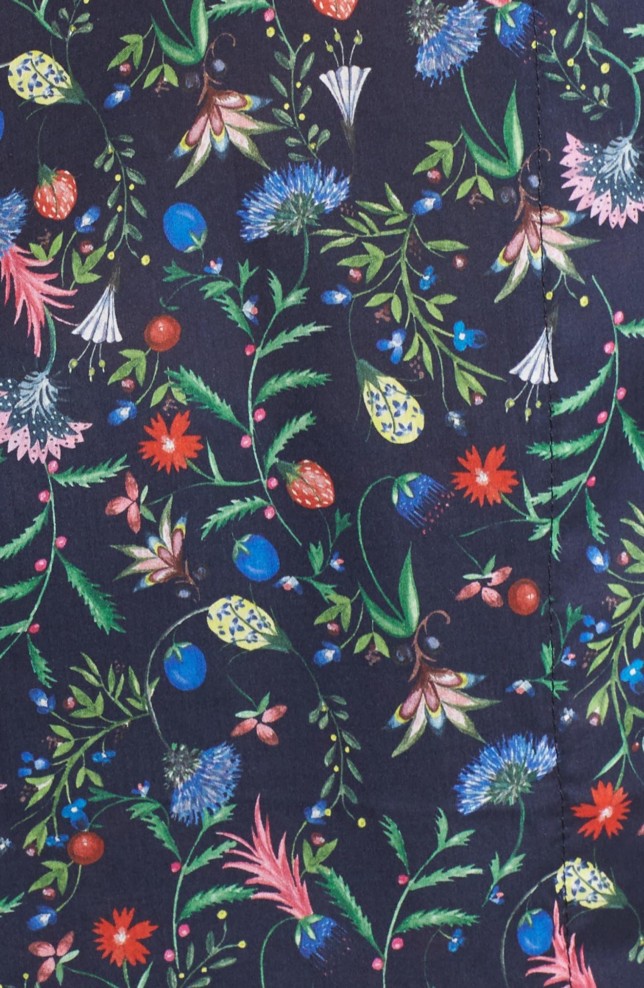 Classic Pajamas,                             Alternate thumbnail 5, color,                             Temptation Meadow