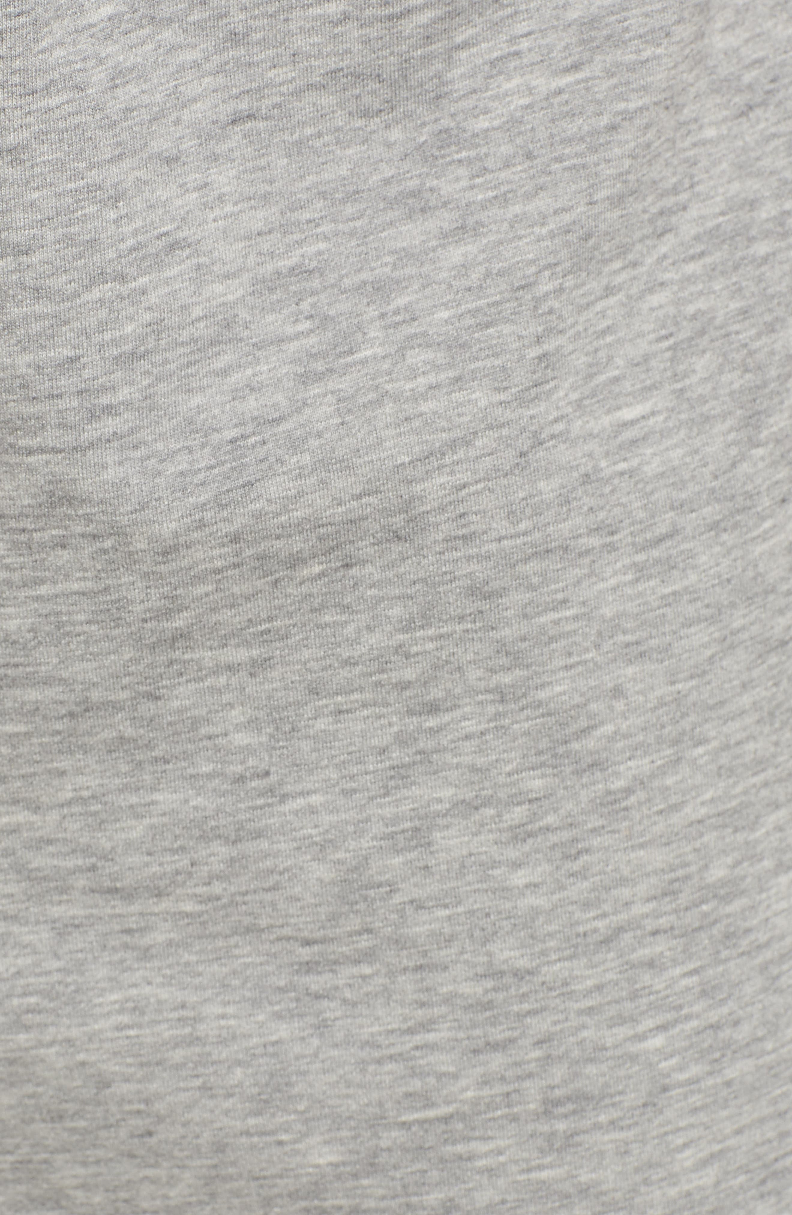 Alternate Image 5  - James Perse Slouchy Crop Sweatpants