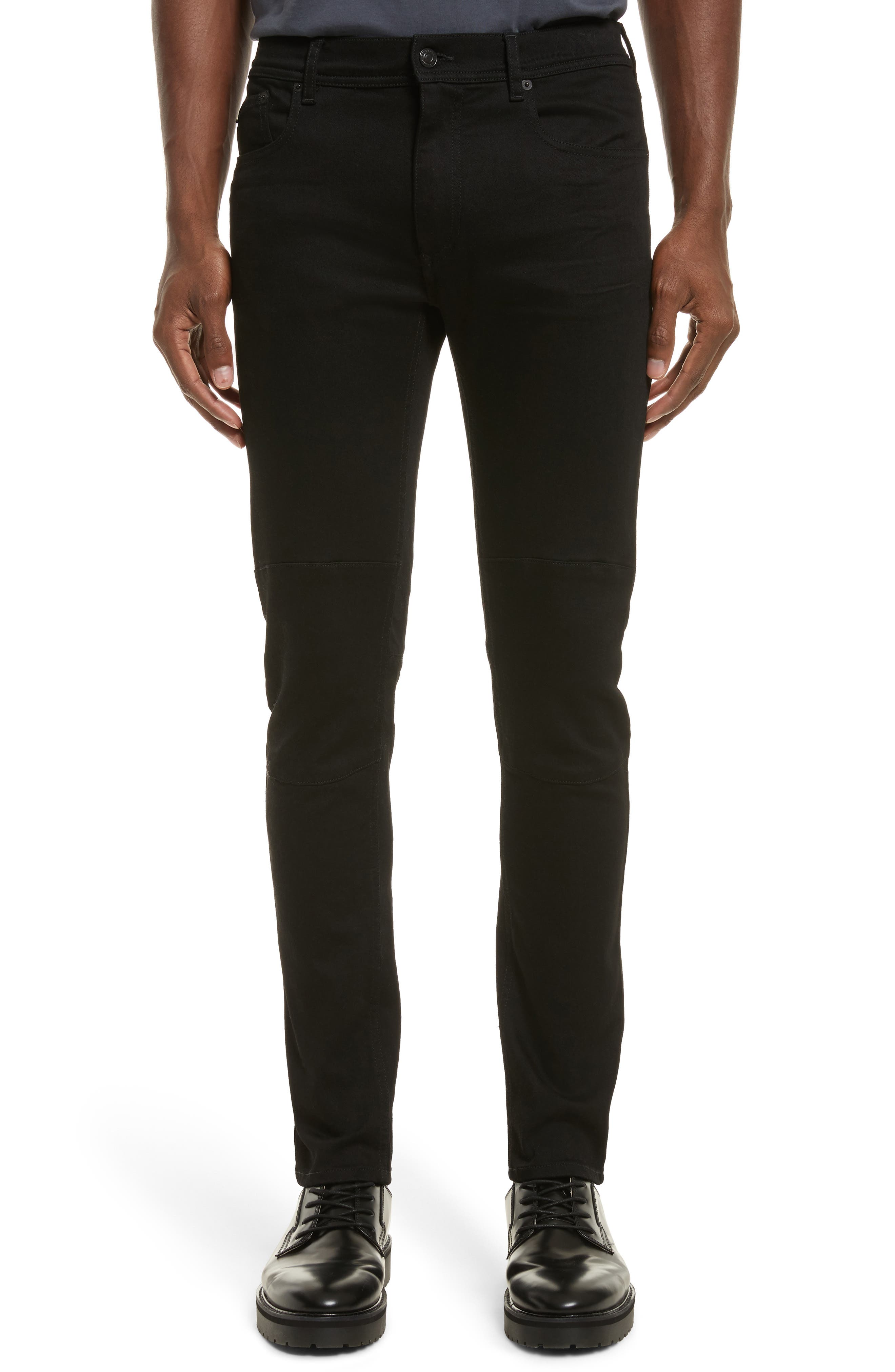 Tattenhall Slim Fit Jeans,                             Main thumbnail 1, color,                             Rinse Black