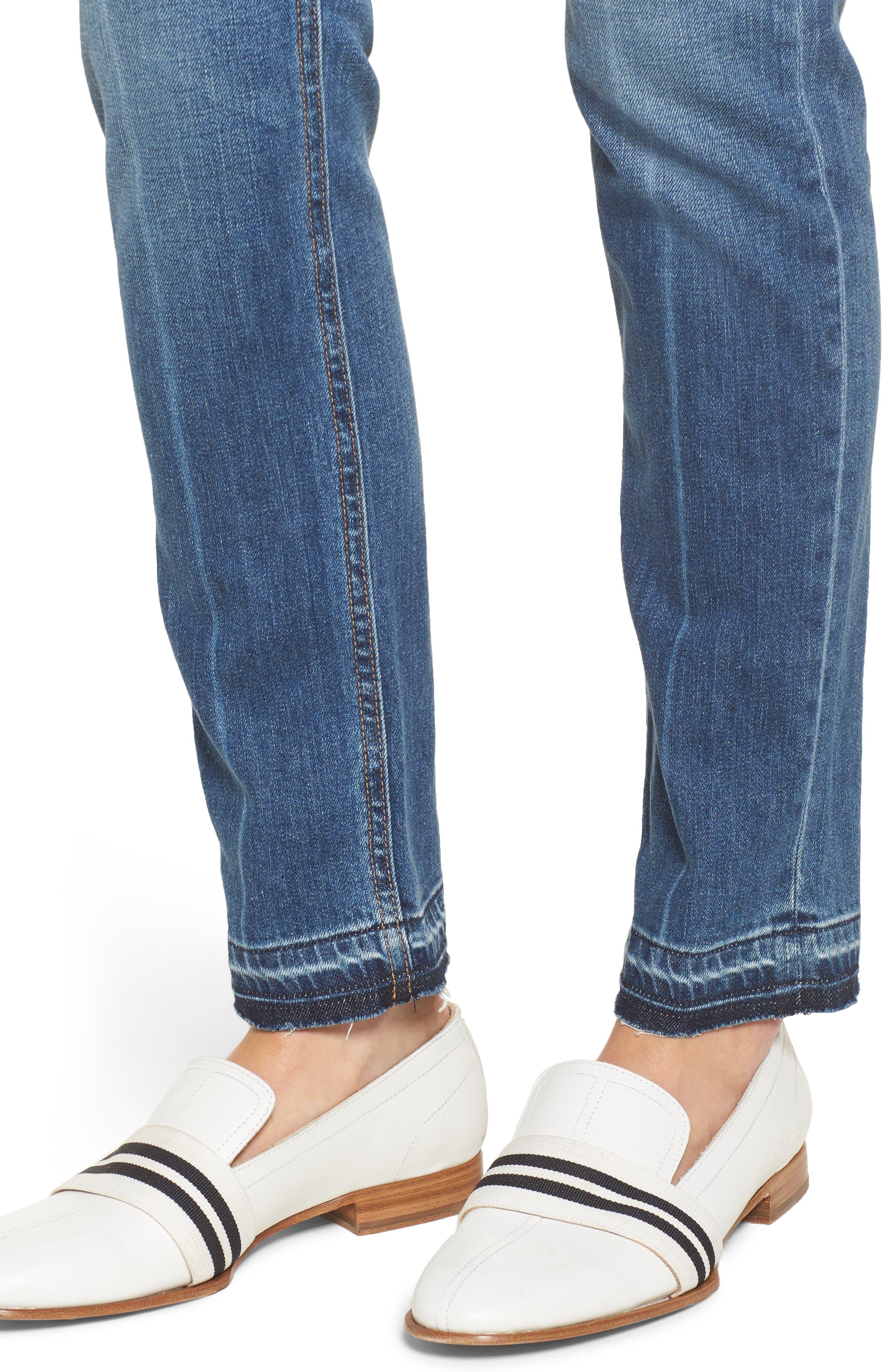 Alternate Image 6  - rag & bone/JEAN The Dre Slim Boyfriend Jeans (Coopers)