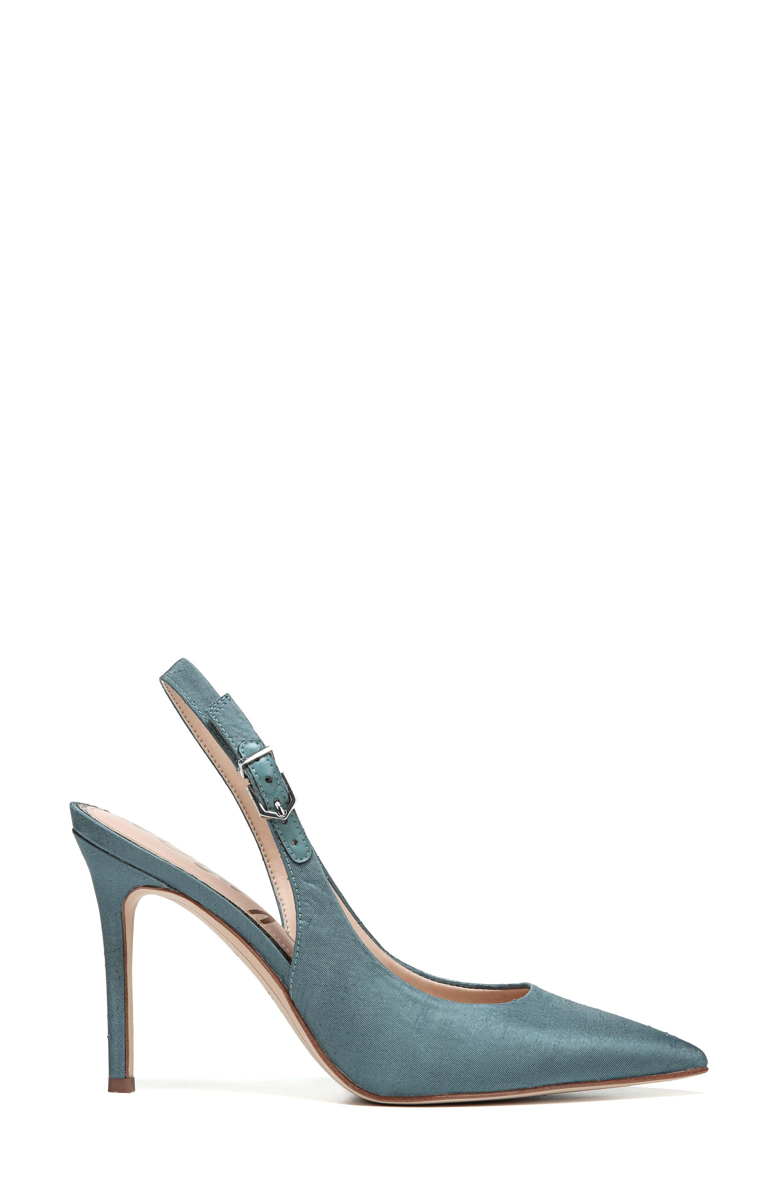 Hastings Slingback Pump,                             Alternate thumbnail 3, color,                             Blue Shadow