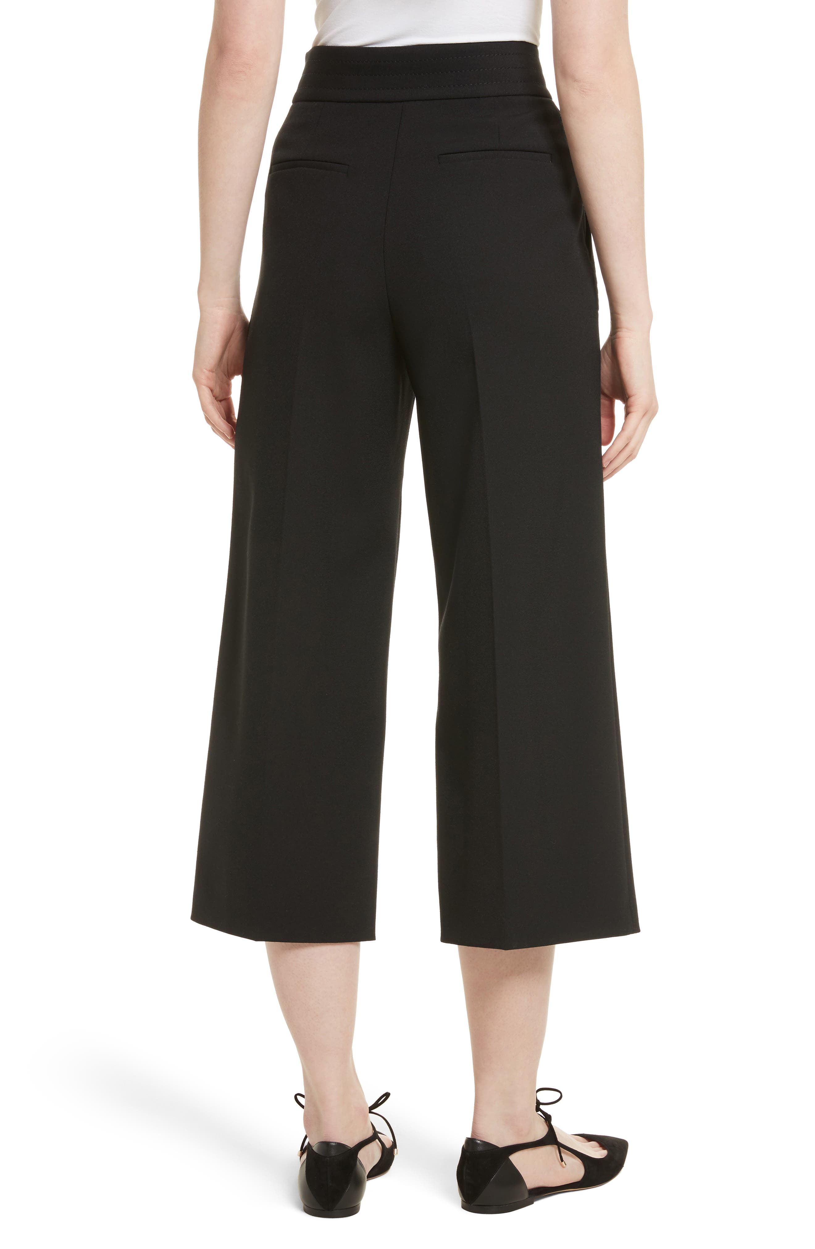 Alternate Image 2  - RED Valentino Belt Detail Culottes