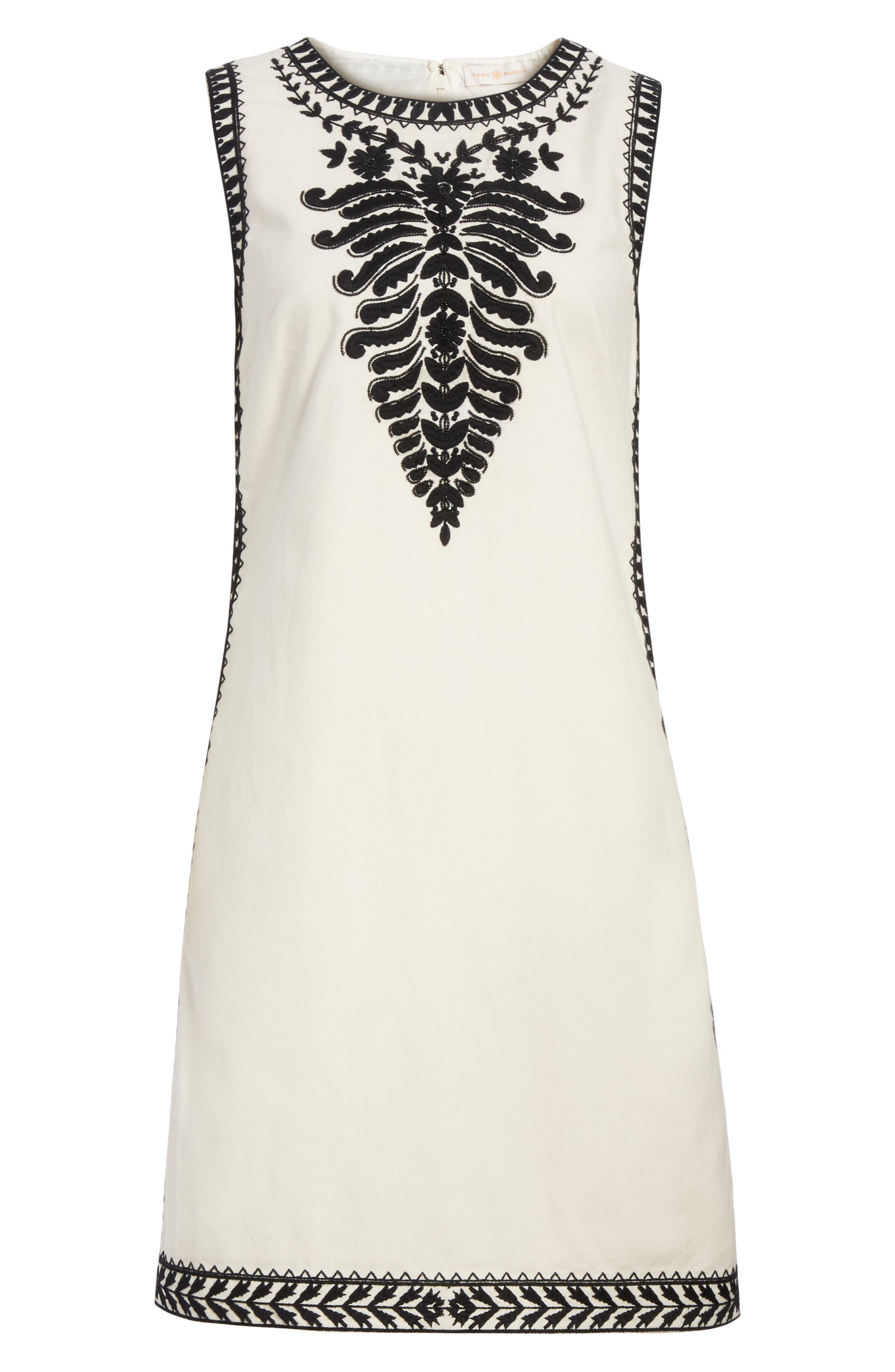 Alternate Image 6  - Tory Burch Camille Embellished Shift Dress