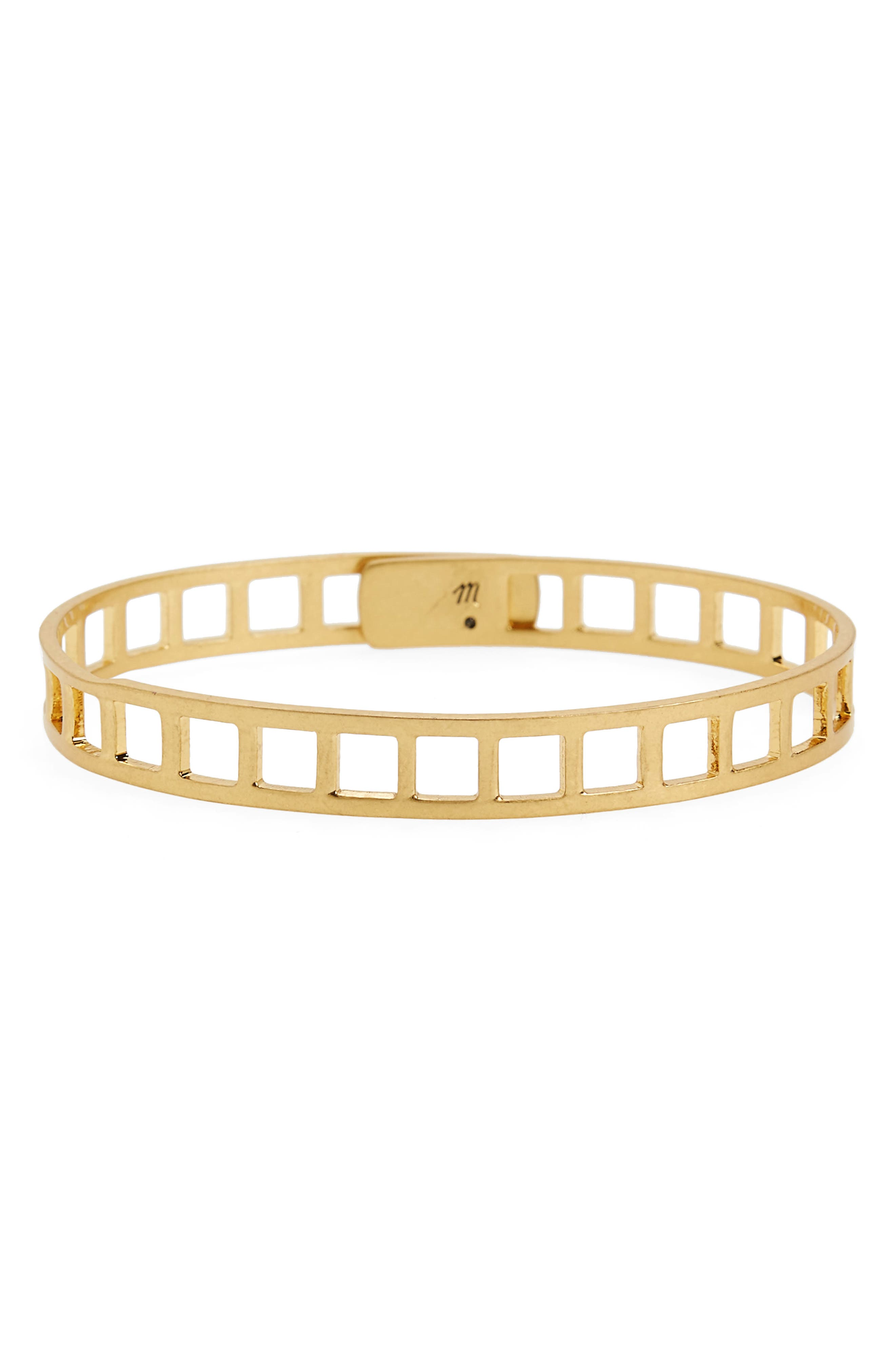 Tracecraft Bangle,                             Main thumbnail 1, color,                             Ladder Cut Out