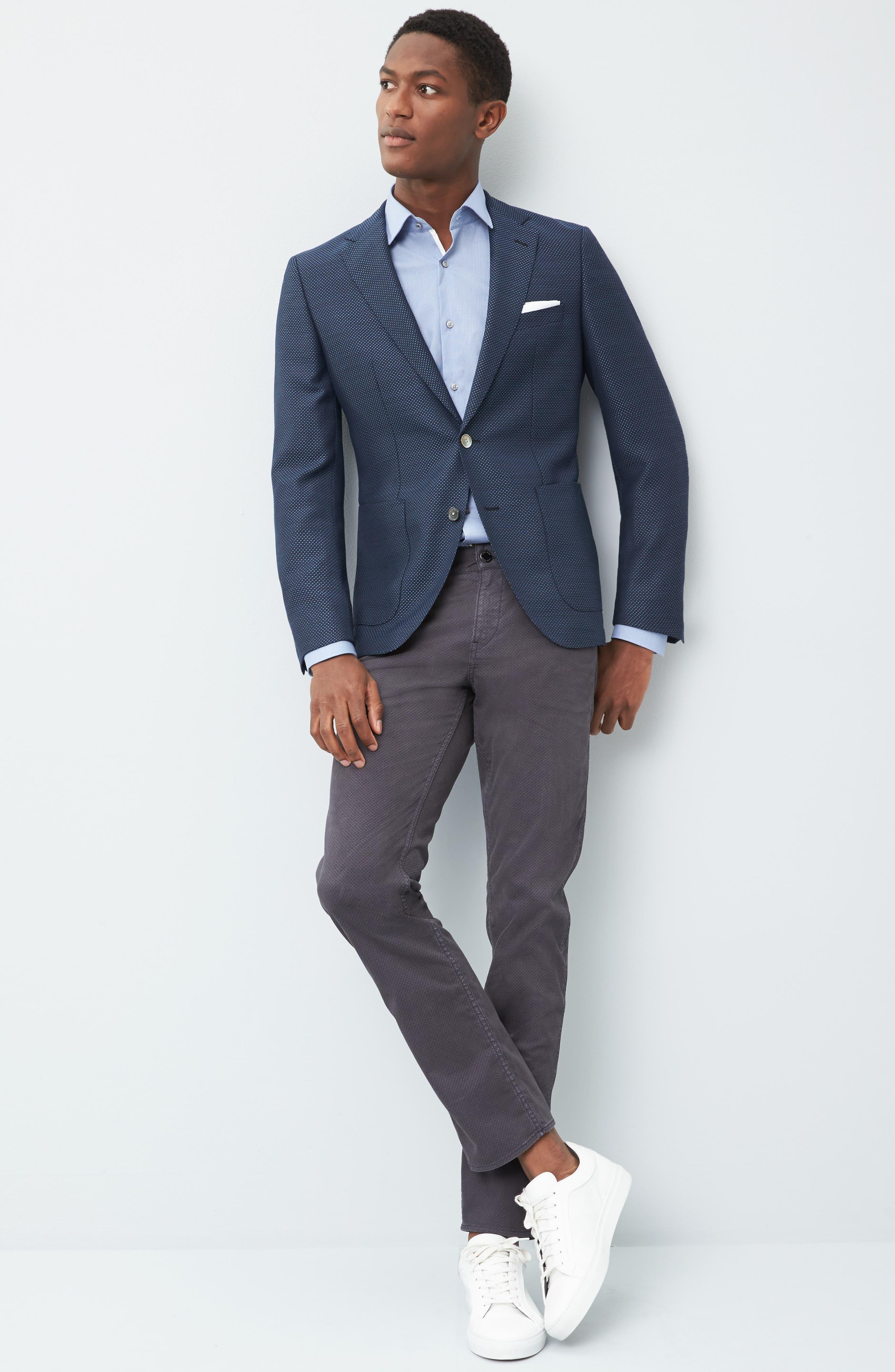 Alternate Image 7  - BOSS Janson Classic Fit Wool Blazer