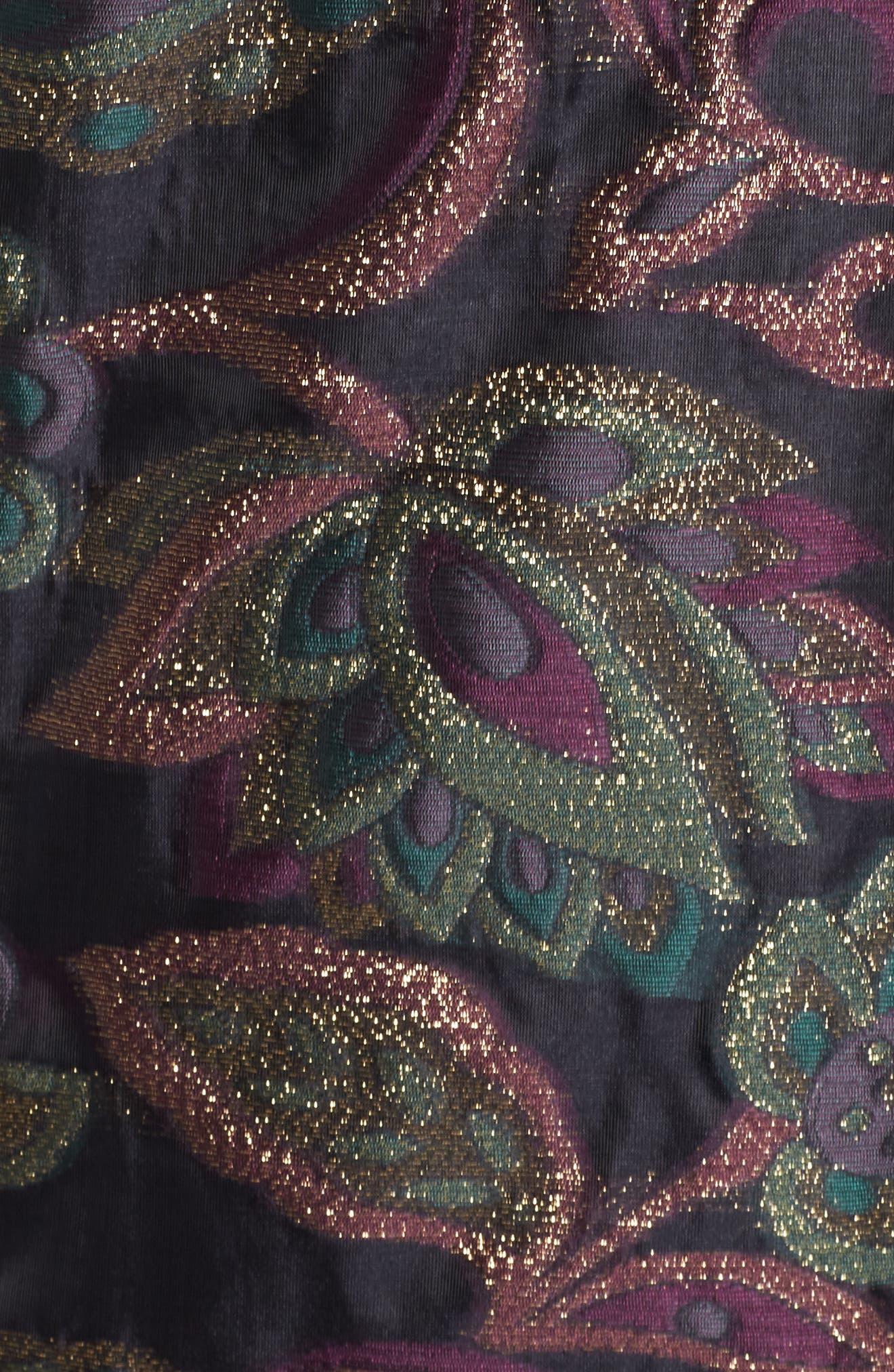 Alternate Image 5  - Maggy London Jacquard Shift Dress (Regular & Petite)