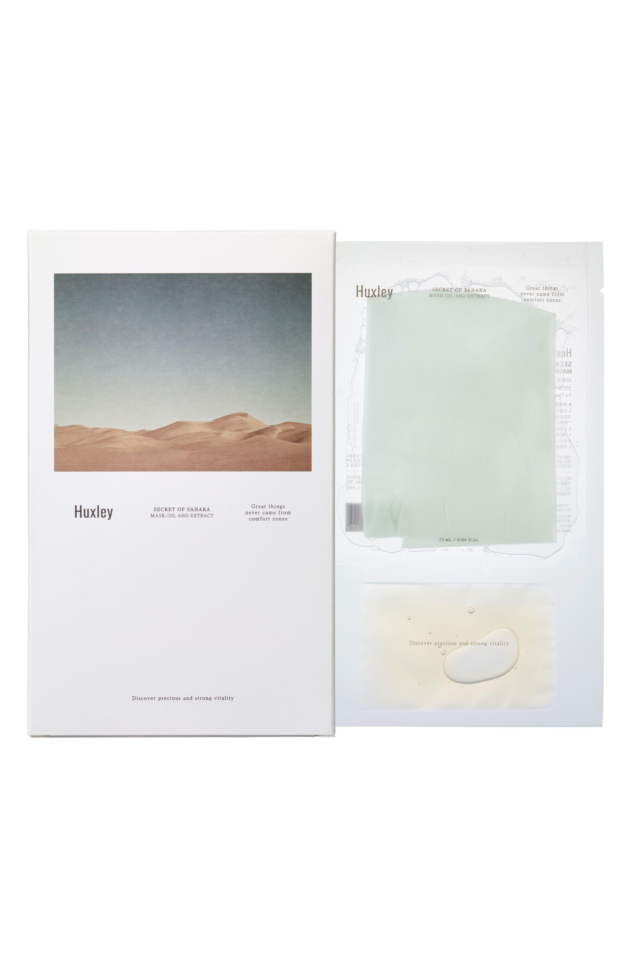 Secret of Sahara Sheet Mask Trio,                         Main,                         color, No Color