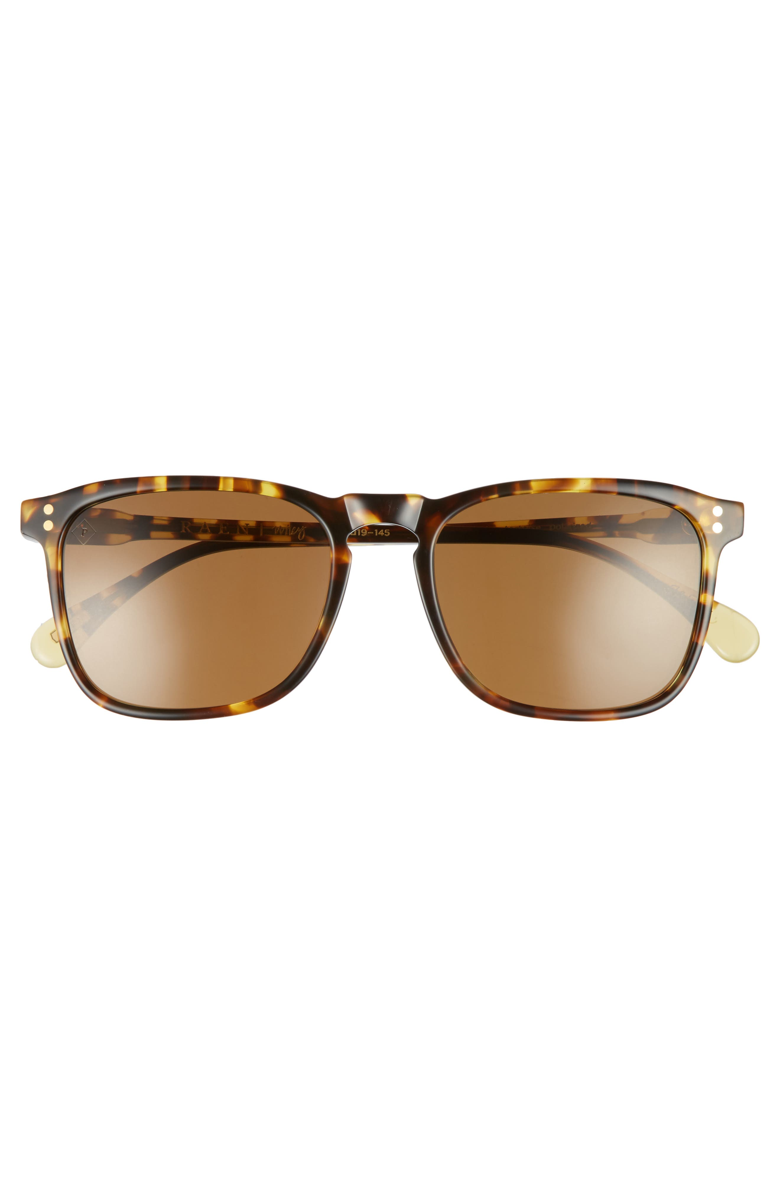 Wiley 54mm Polarized Sunglasses,                             Alternate thumbnail 2, color,                             Tokyo Tortoise/ Brown