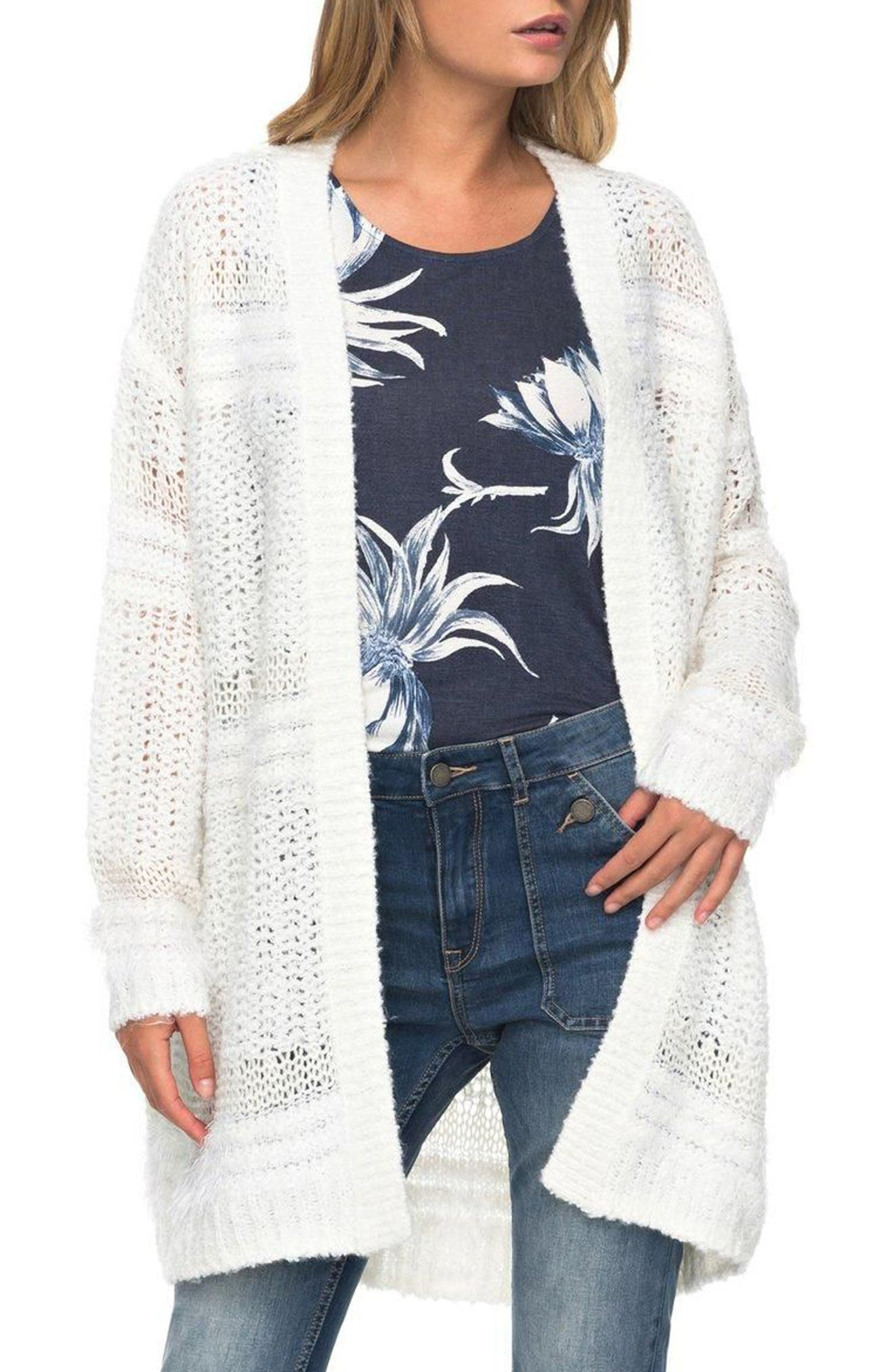Alternate Image 1 Selected - Roxy Pursuit of Liberty Cardigan