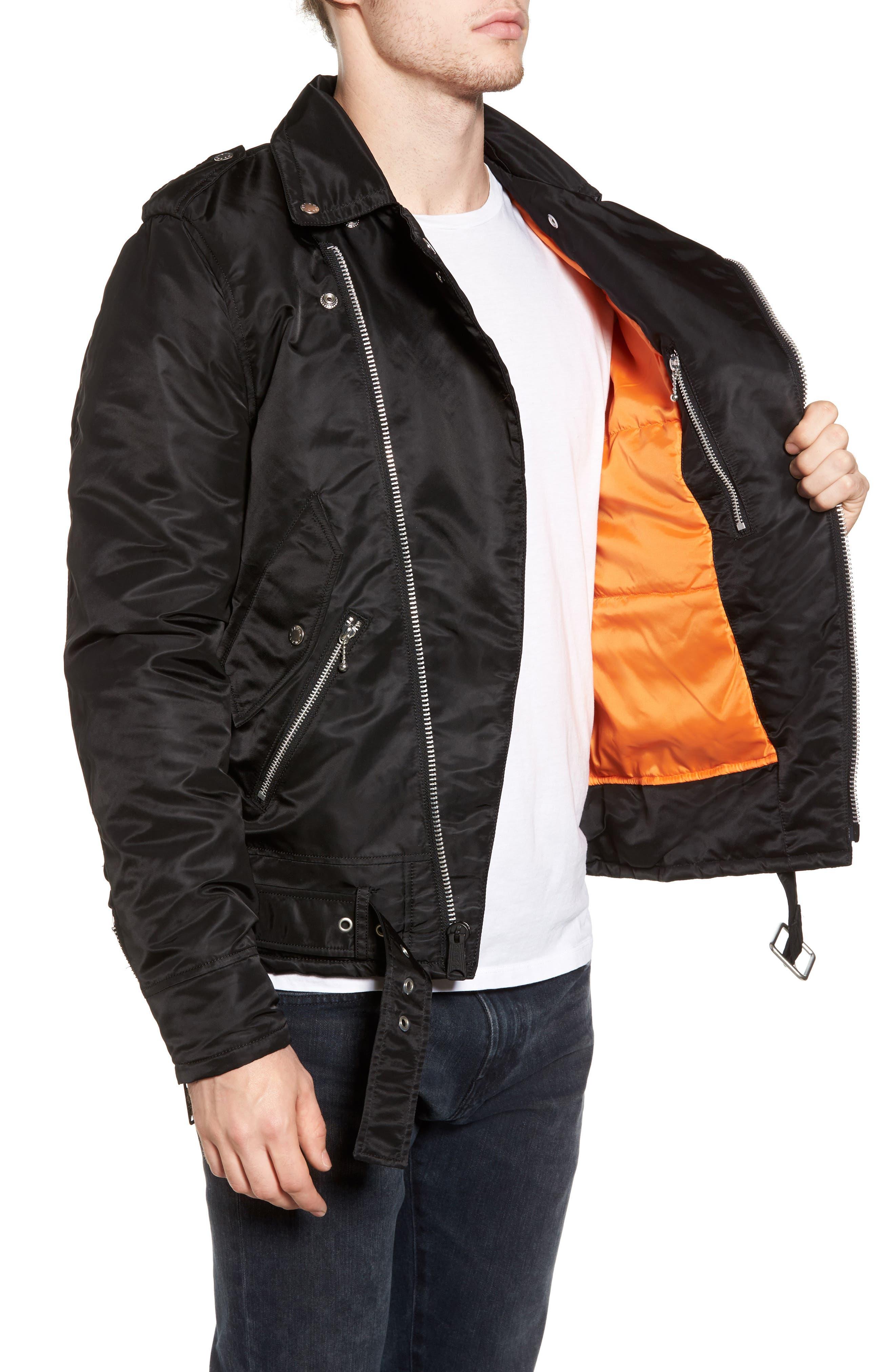 Alternate Image 3  - Alpha Industries Outlaw Biker Jacket