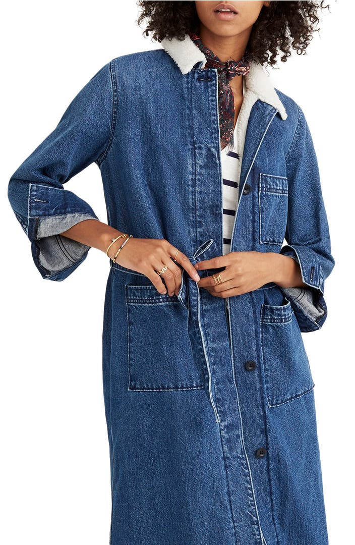 Madewell Denim Duster Coat | Nordstrom