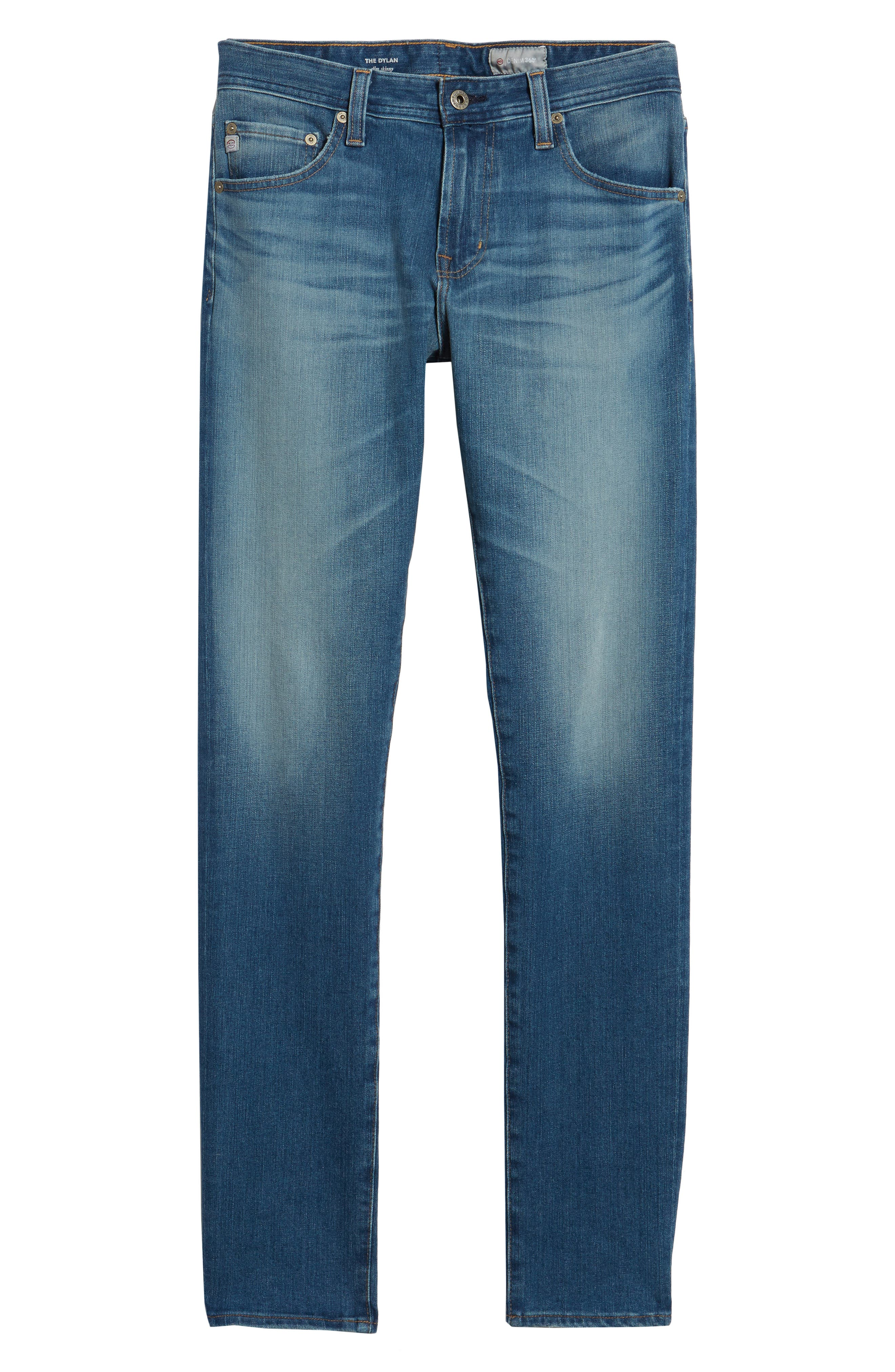 Dylan Slim Skinny Fit Jeans,                             Alternate thumbnail 6, color,                             Audition