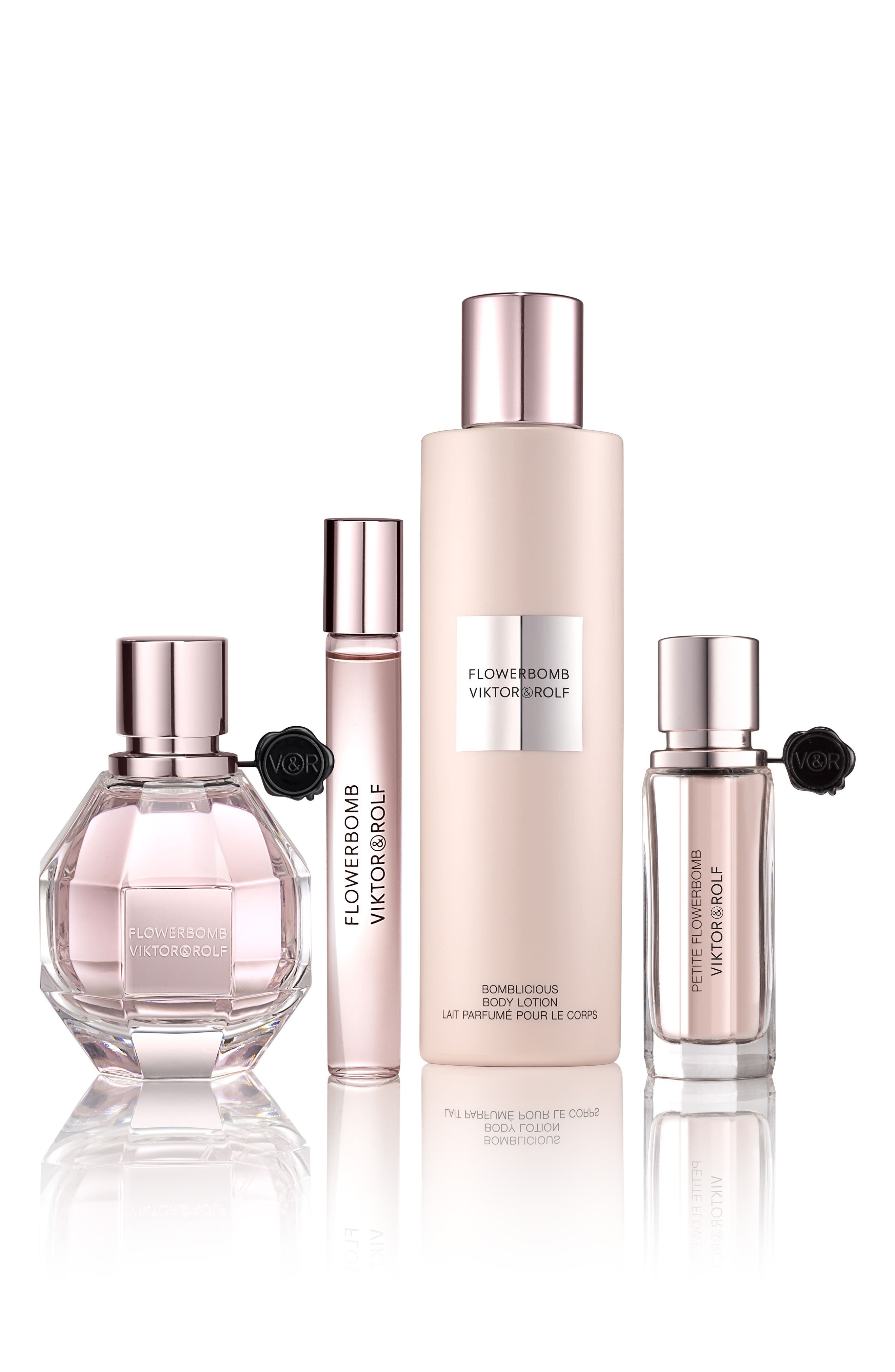 Flowerbomb Four-Piece Luxury Set,                             Alternate thumbnail 2, color,                             No Color