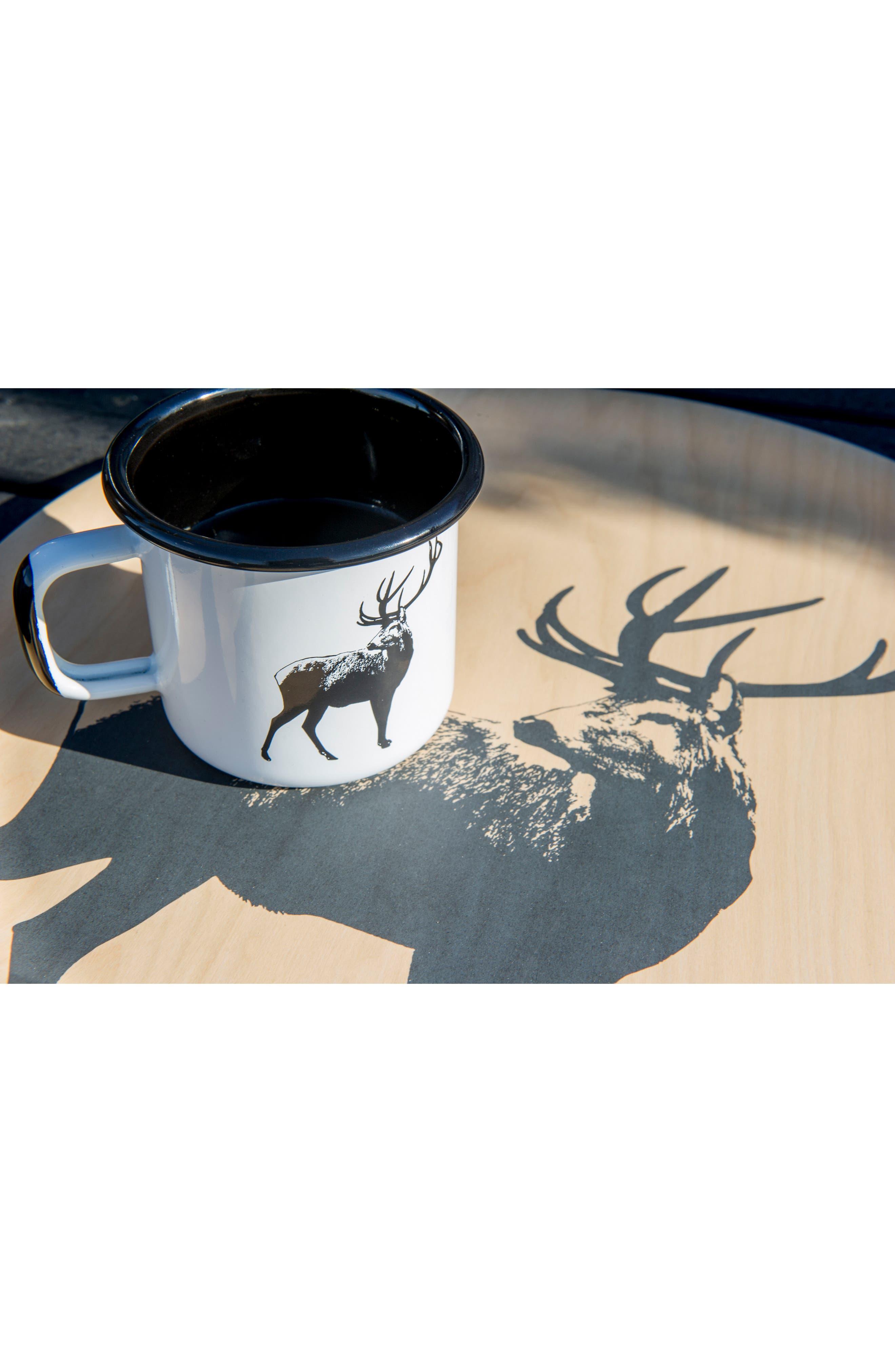 Alternate Image 3  - Muurla Deer Birch & Melamine Serving Tray