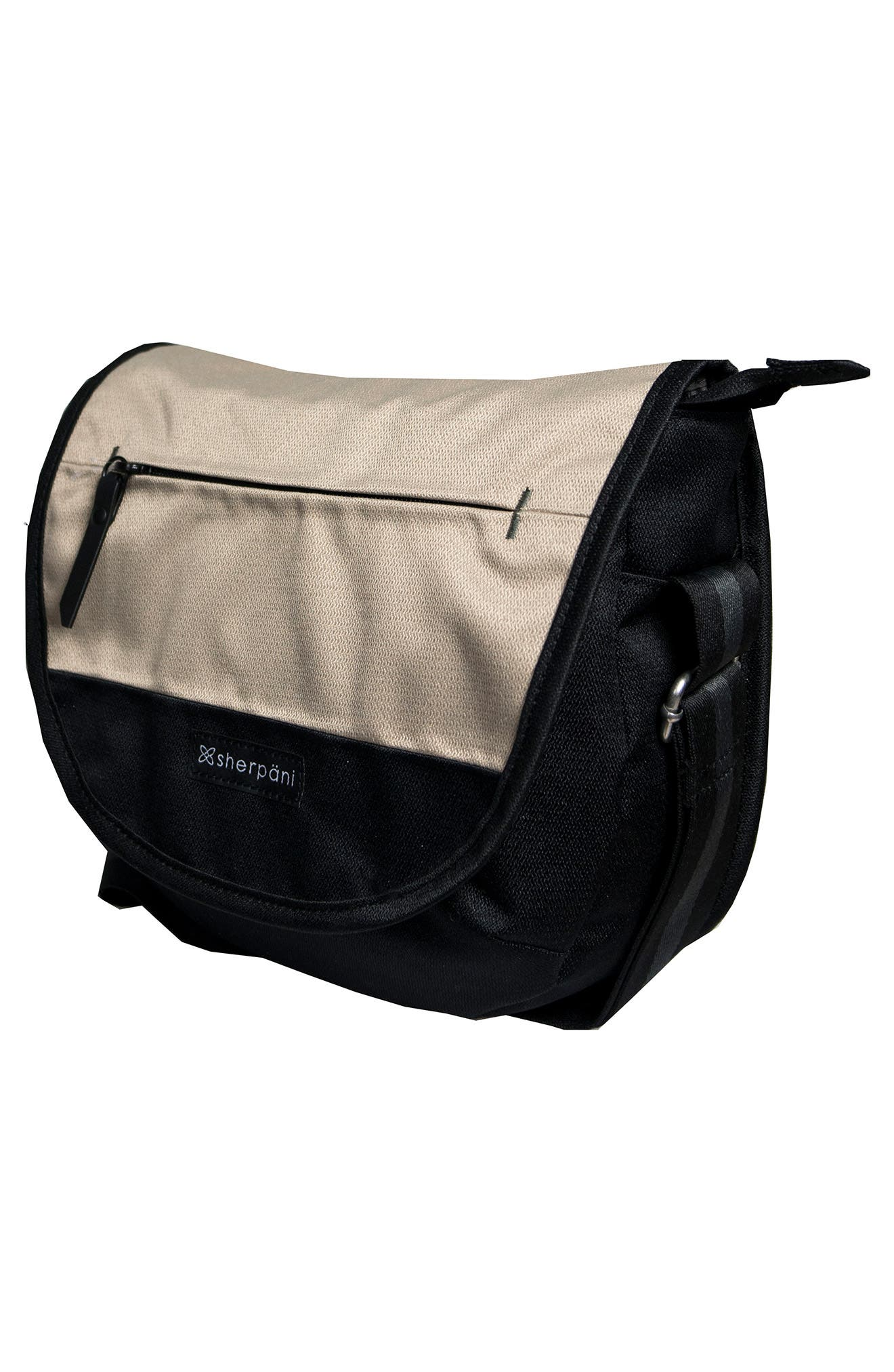 Alternate Image 4  - Sherpani Milli Water Resistant RFID Picket Messenger Bag