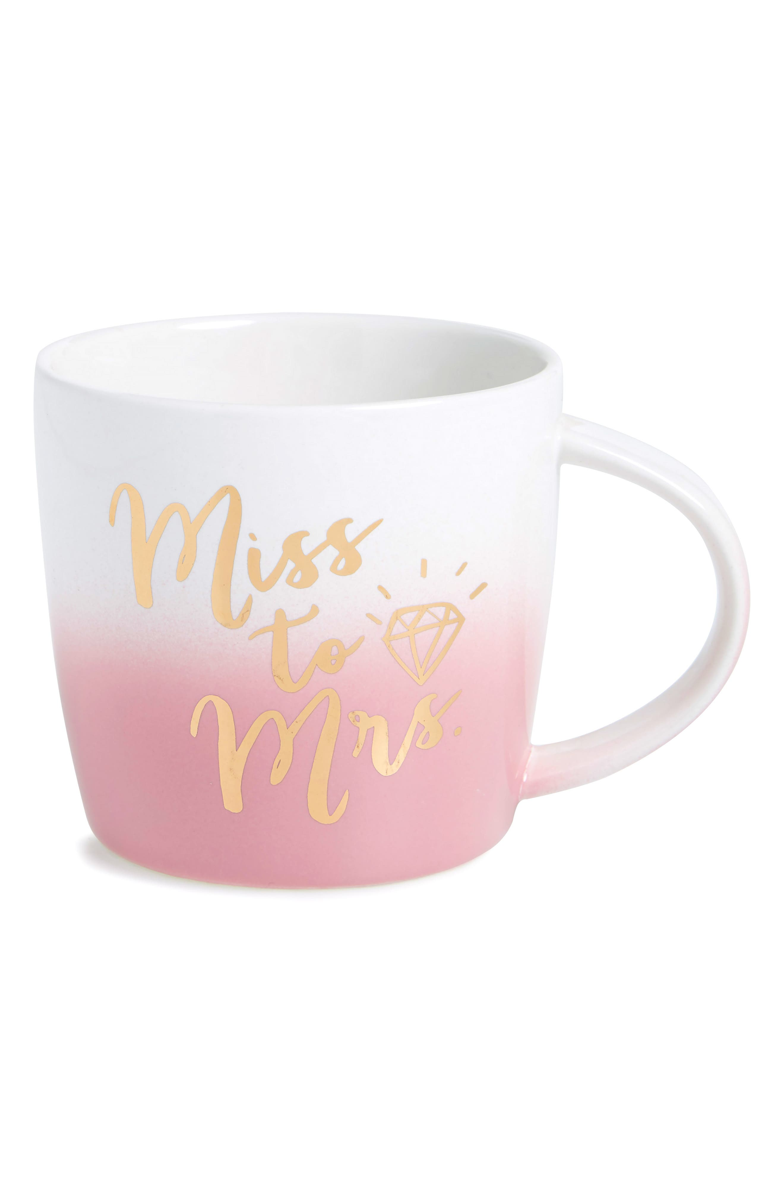 Alternate Image 1 Selected - Slant Collections Miss To Mrs. Ceramic Mug