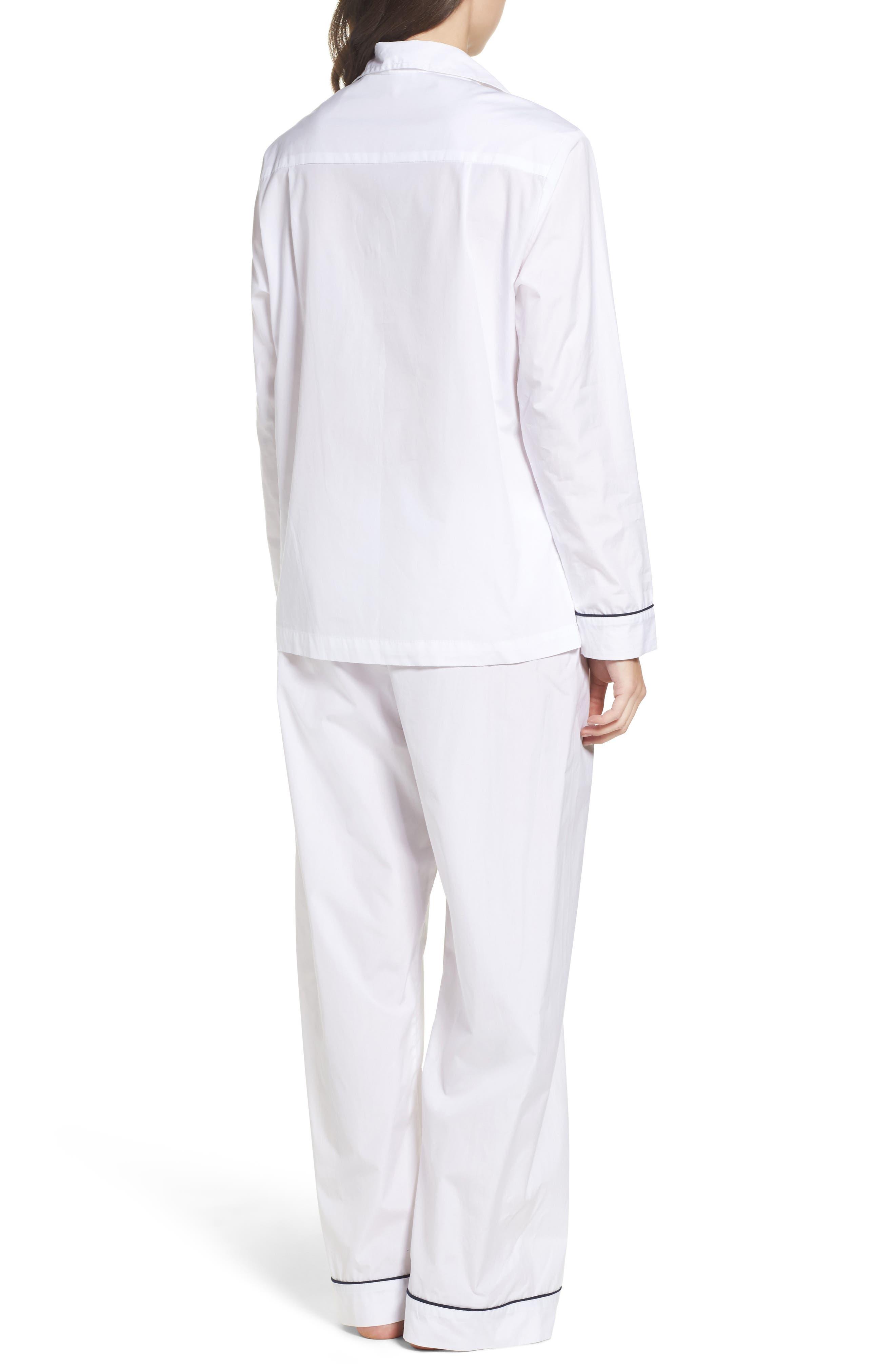 Alternate Image 2  - Pour Les Femmes Piped Pajamas