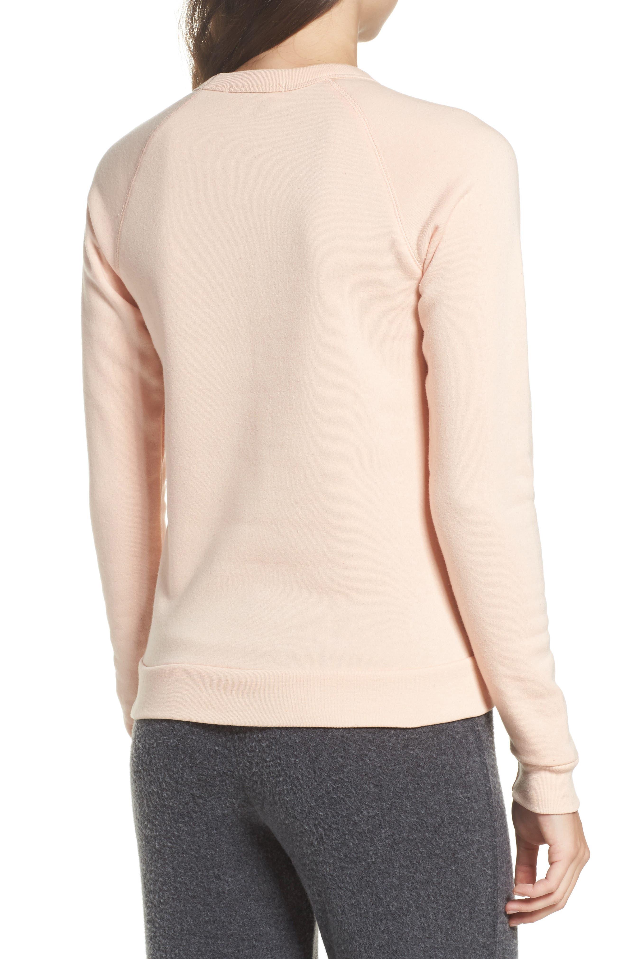 Alternate Image 2  - Bow & Drape Ready in a Prosecco Sweatshirt