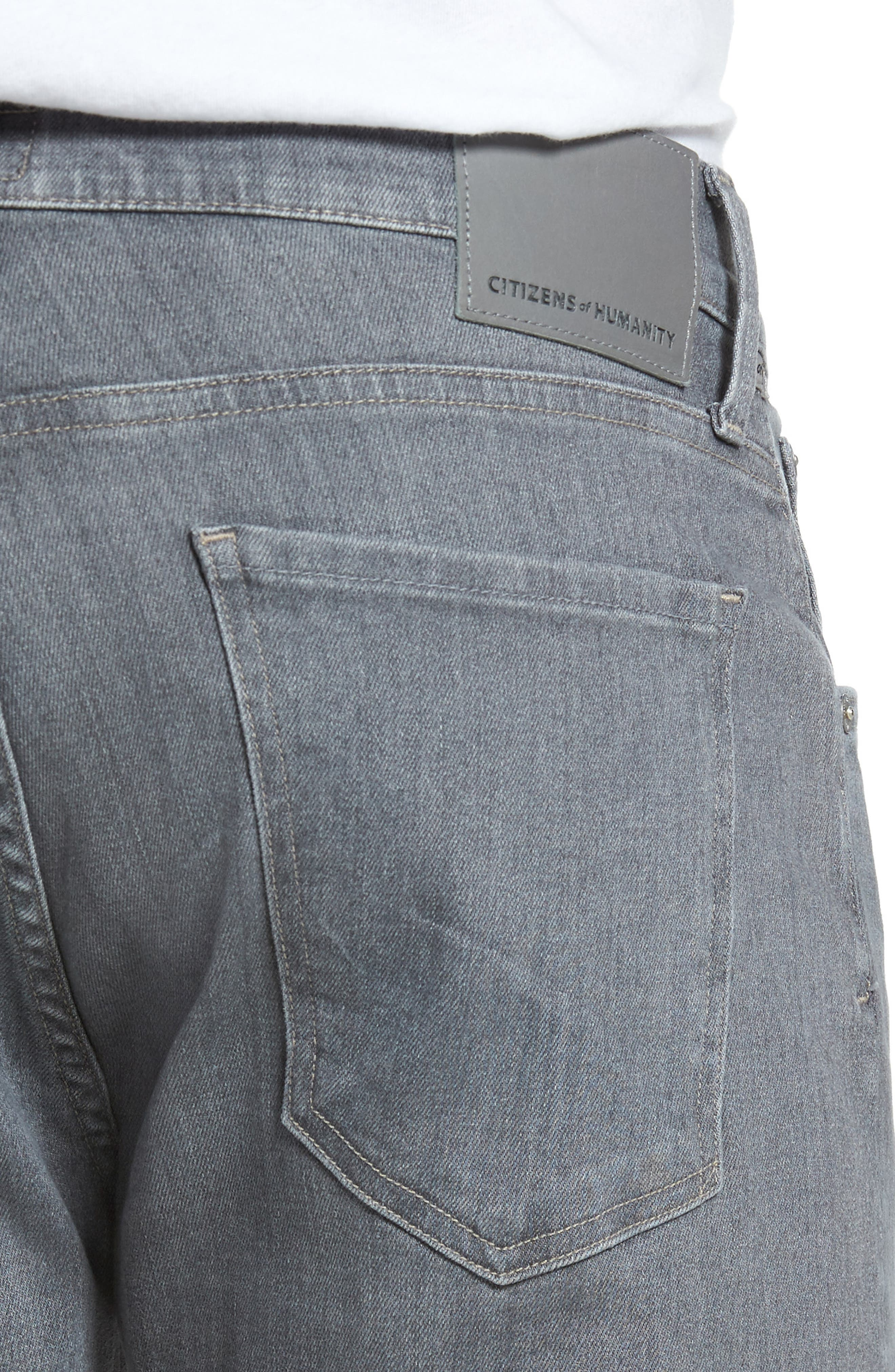 Alternate Image 4  - Citizens of Humanity PERFORM - Gage Slim Straight Fit Jeans (Gull Grey)