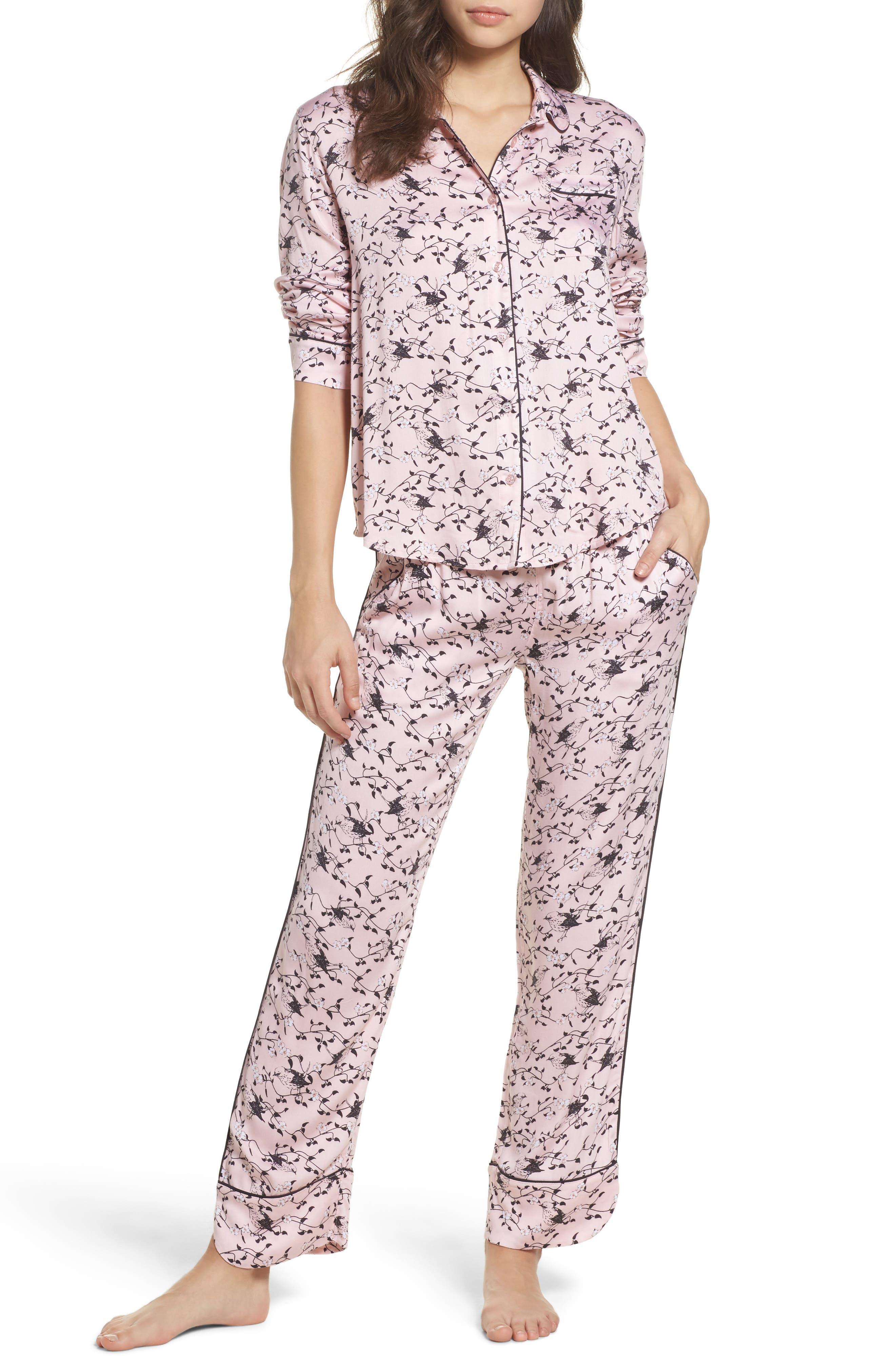 Alternate Image 1 Selected - PJ Salvage Jersey Pajamas