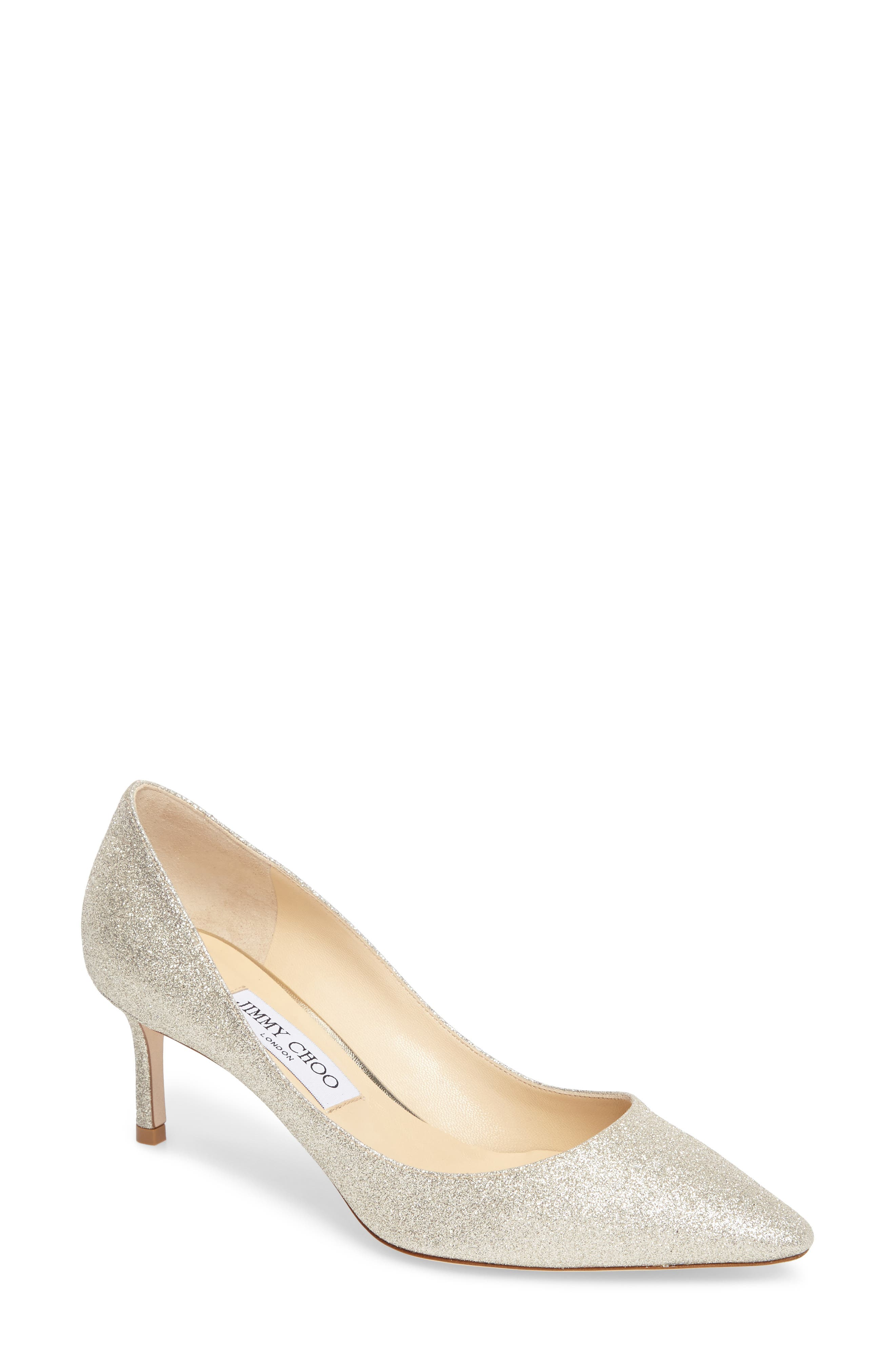 Alternate Image 1 Selected - Jimmy Choo Romy Glitter Pump (Women)