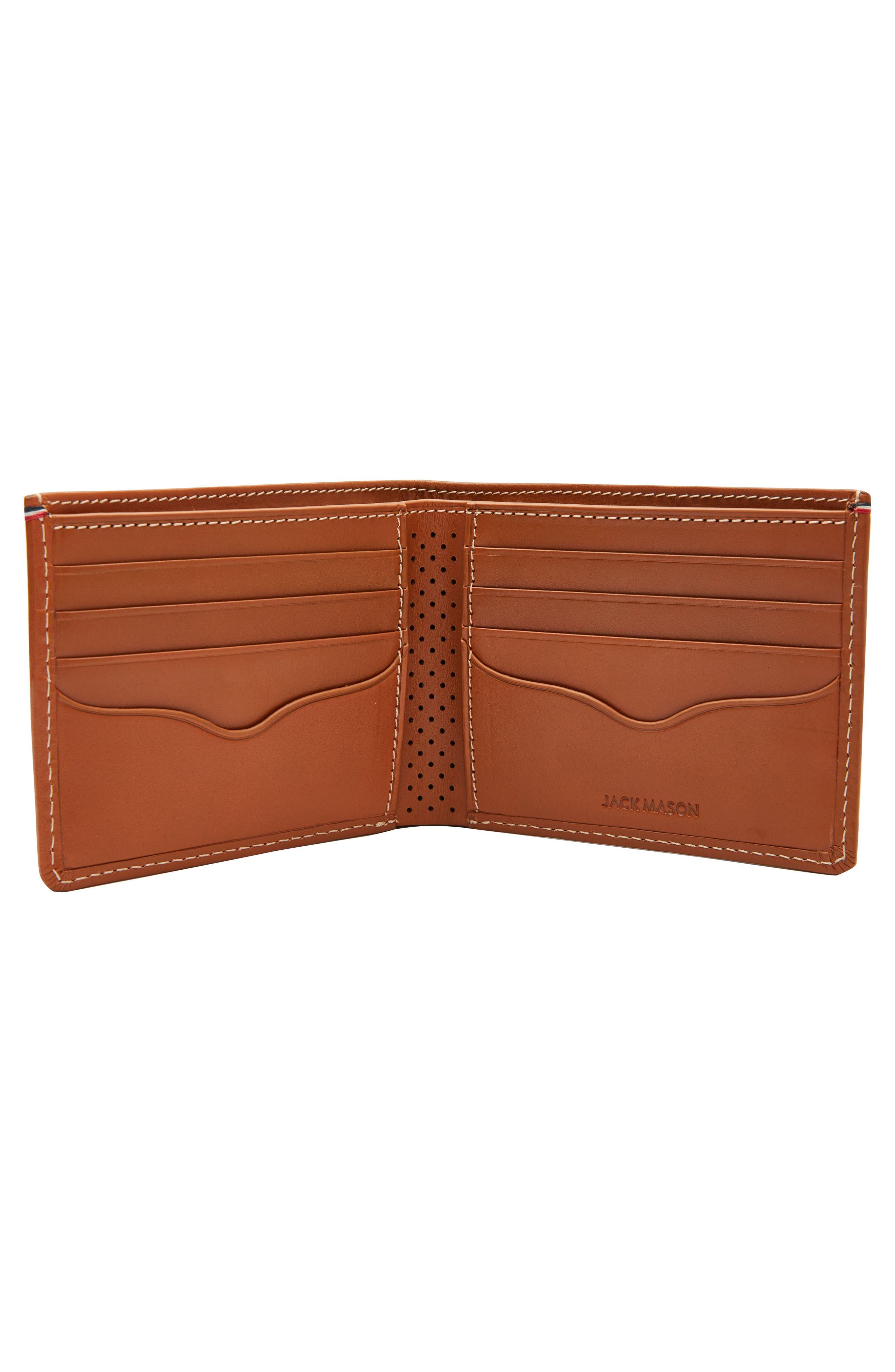 Alternate Image 2  - Jack Mason Leather Wallet