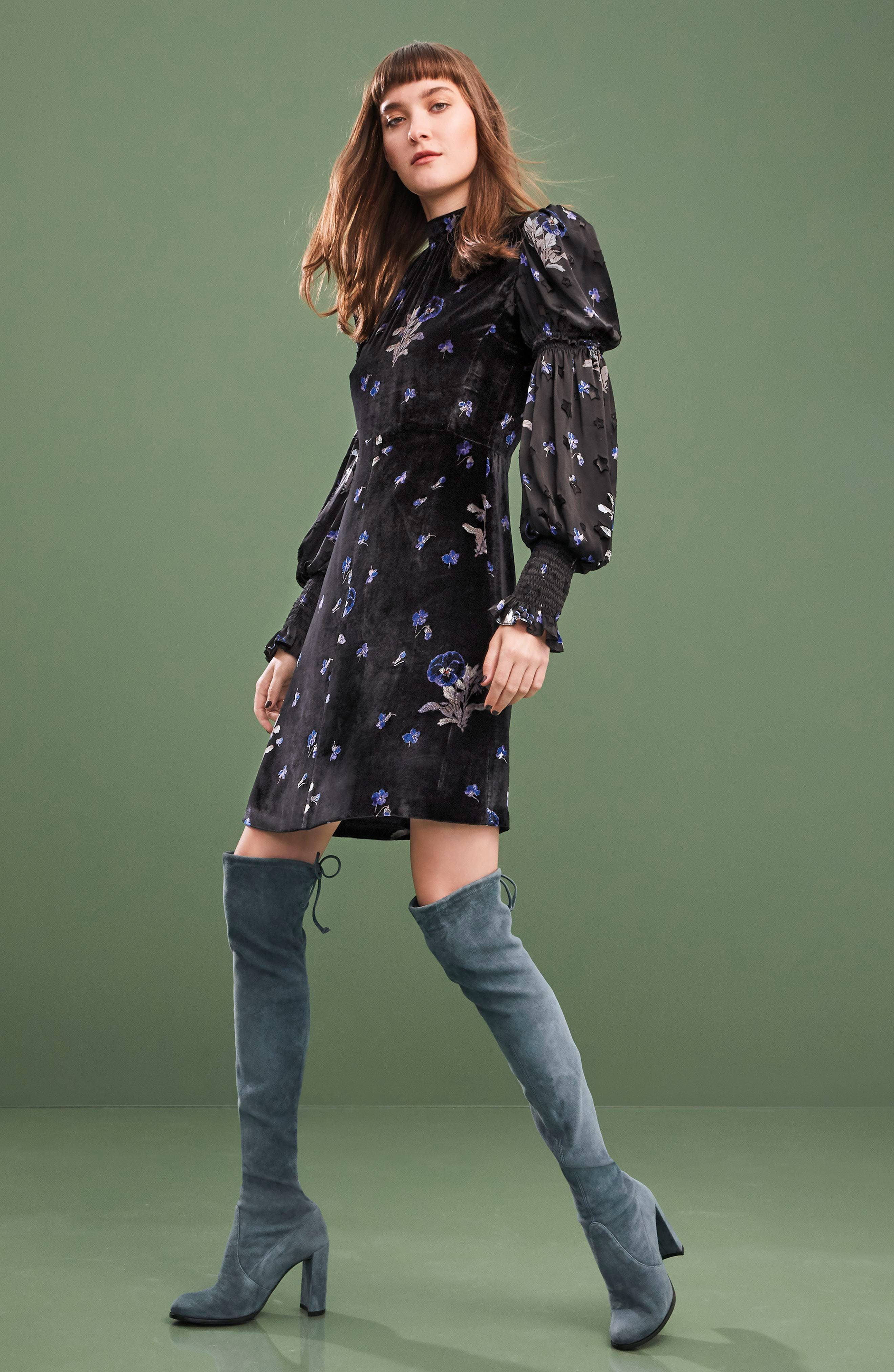 Hiline Over the Knee Boot,                             Alternate thumbnail 7, color,