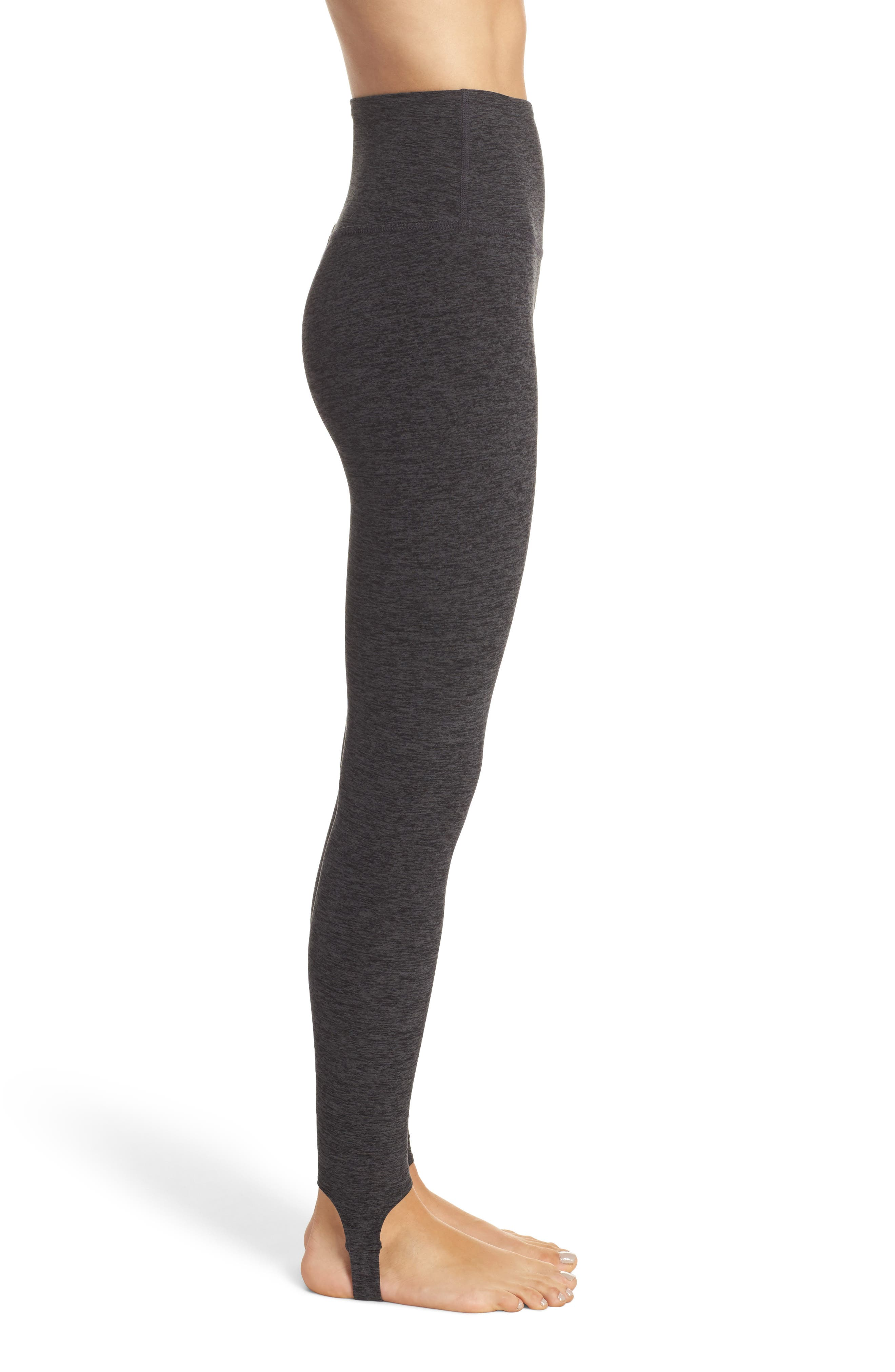 Alternate Image 3  - Beyond Yoga High Waist Stirrup Leggings