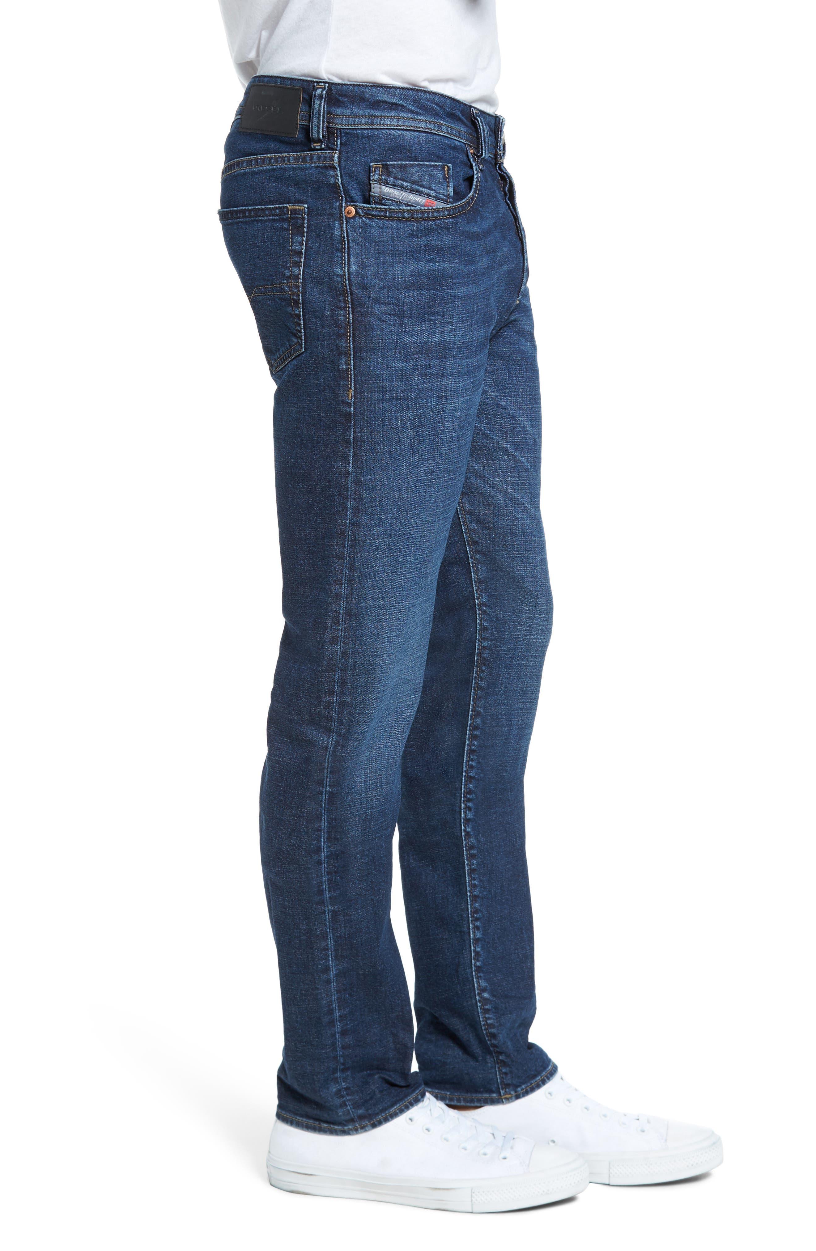 Alternate Image 3  - DIESEL® Buster Slim Straight Fit Jeans