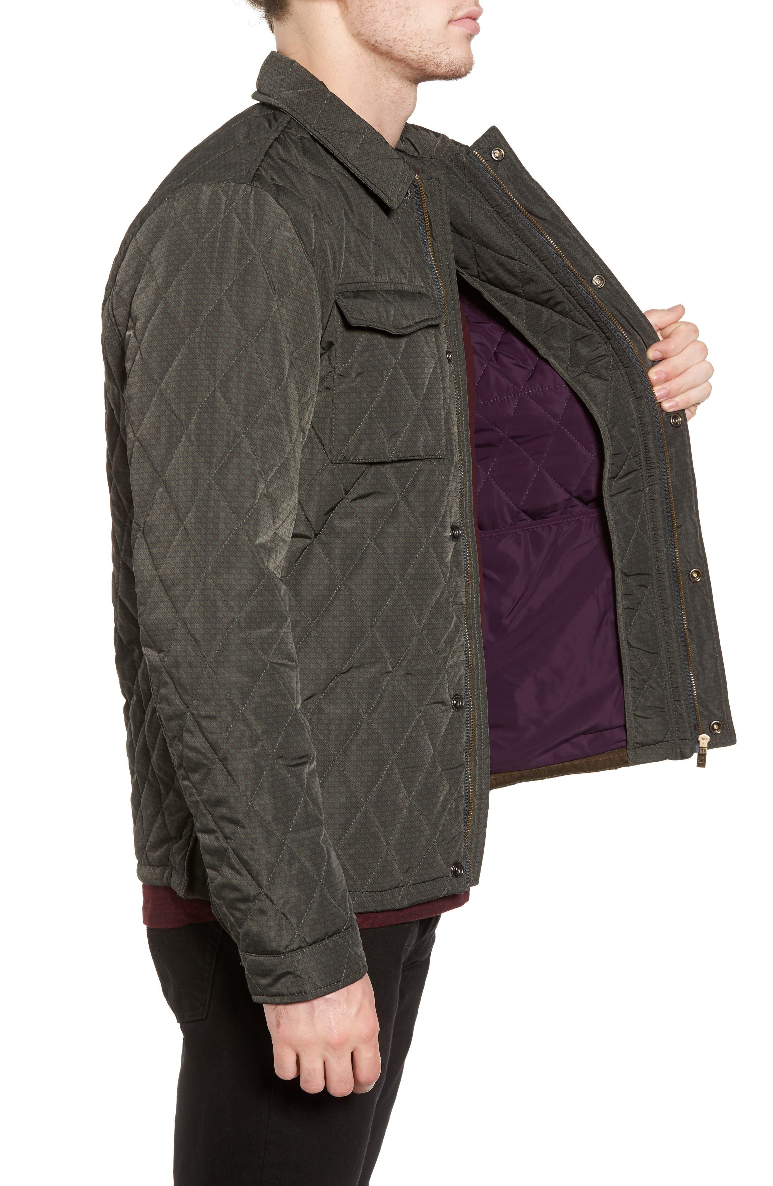 Alternate Image 3  - Scotch & Soda Lightweight Quilted Shirt Jacket
