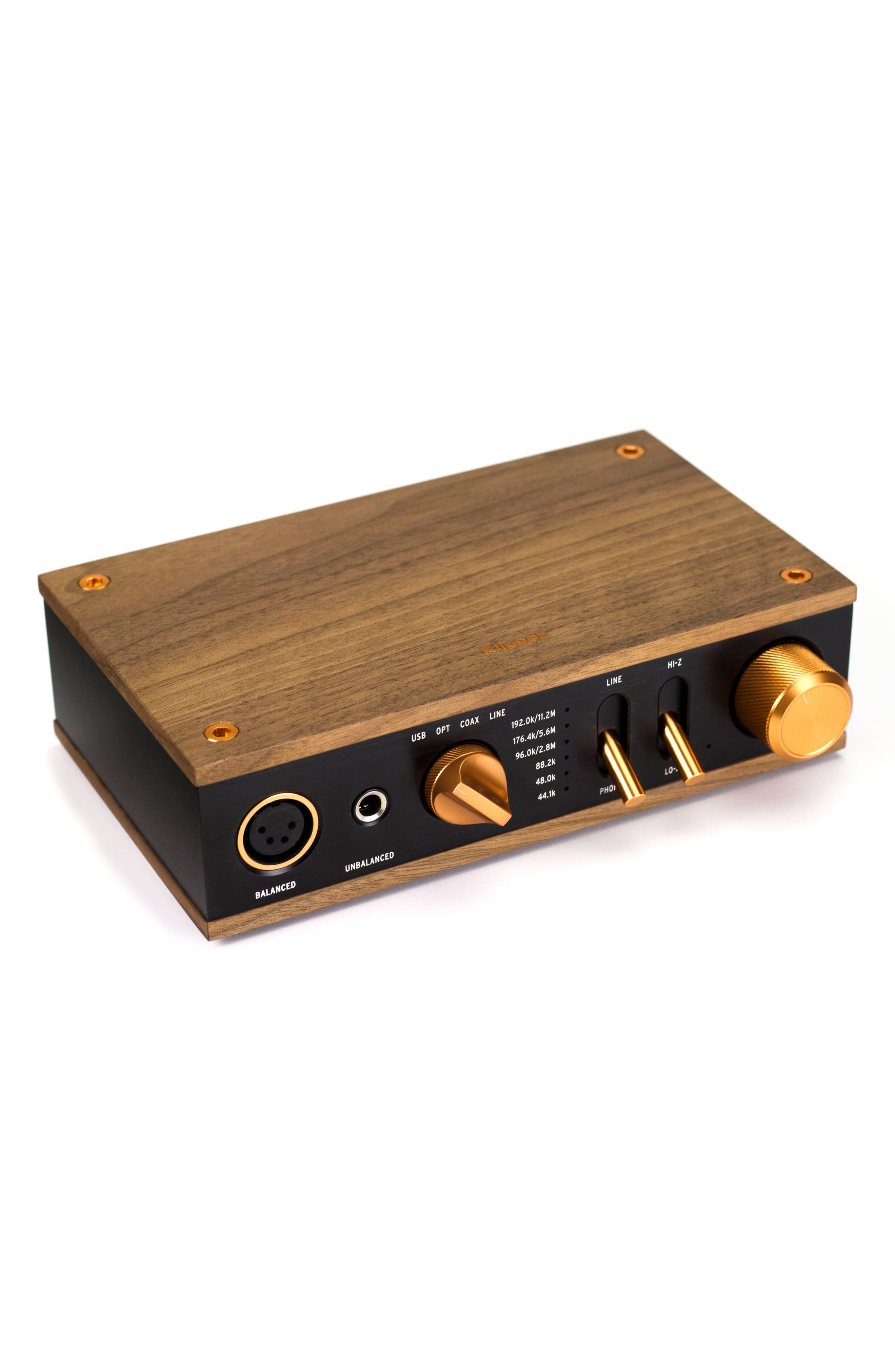 Heritage Headphone Amplifier,                             Main thumbnail 1, color,                             Walnut