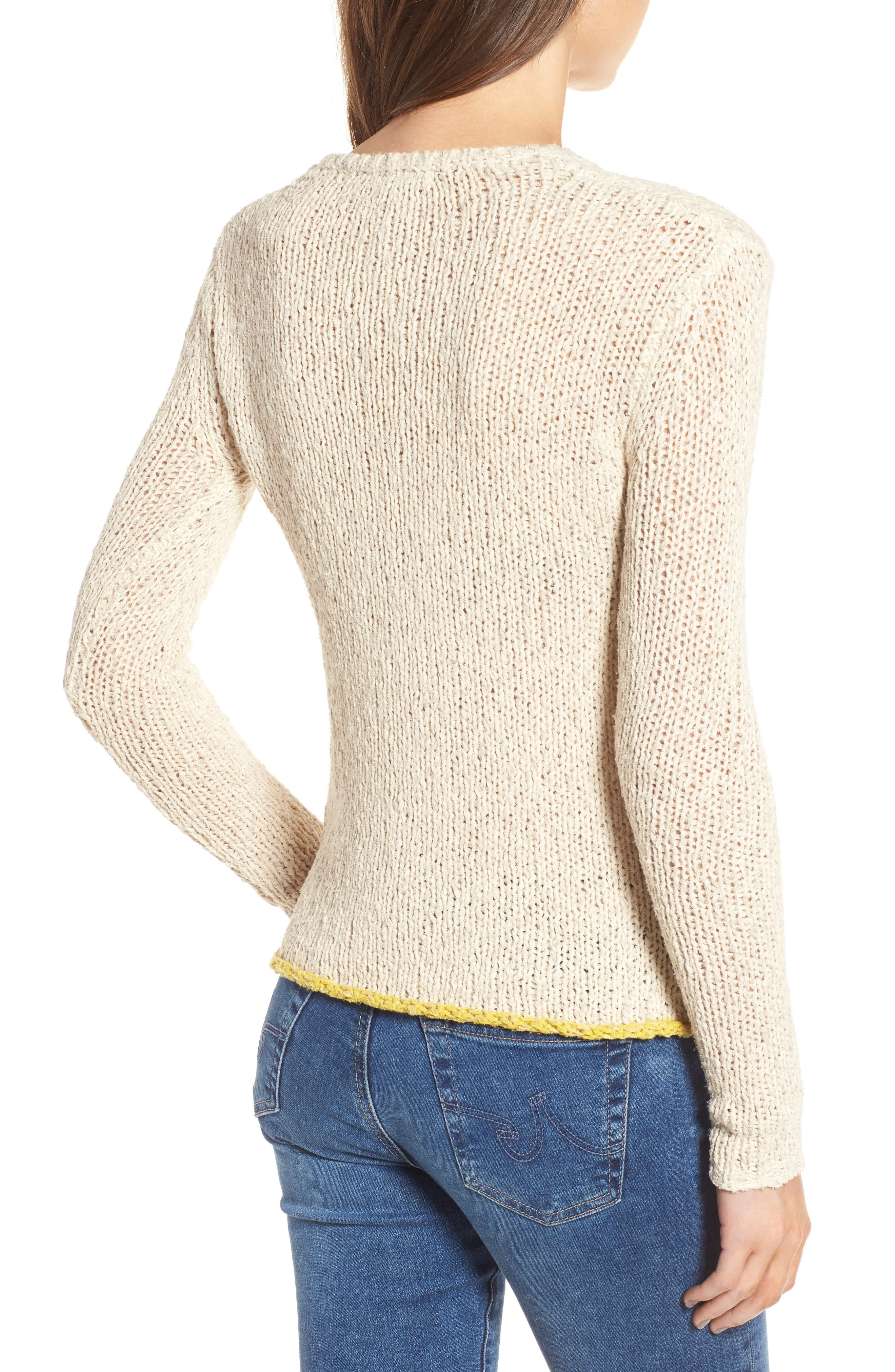 Open Stitch Sweater,                             Alternate thumbnail 2, color,                             Vintage