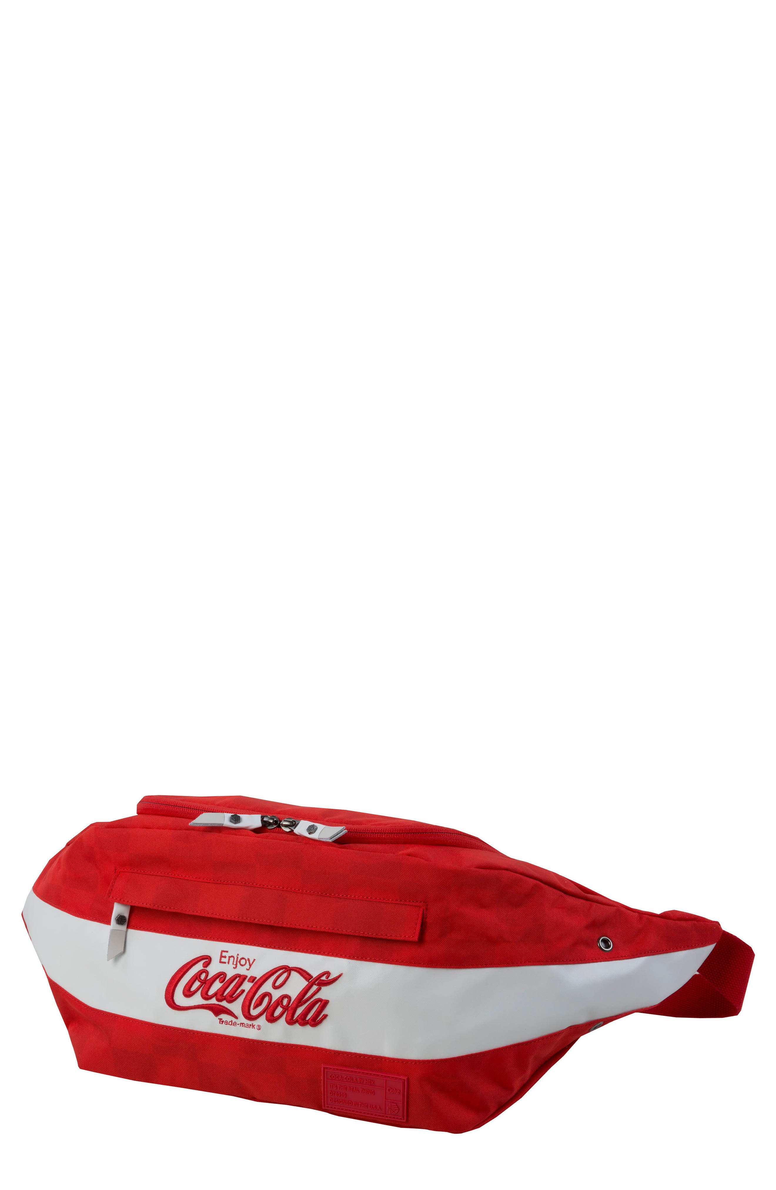 Coca Cola Sneaker Sling,                         Main,                         color, Red