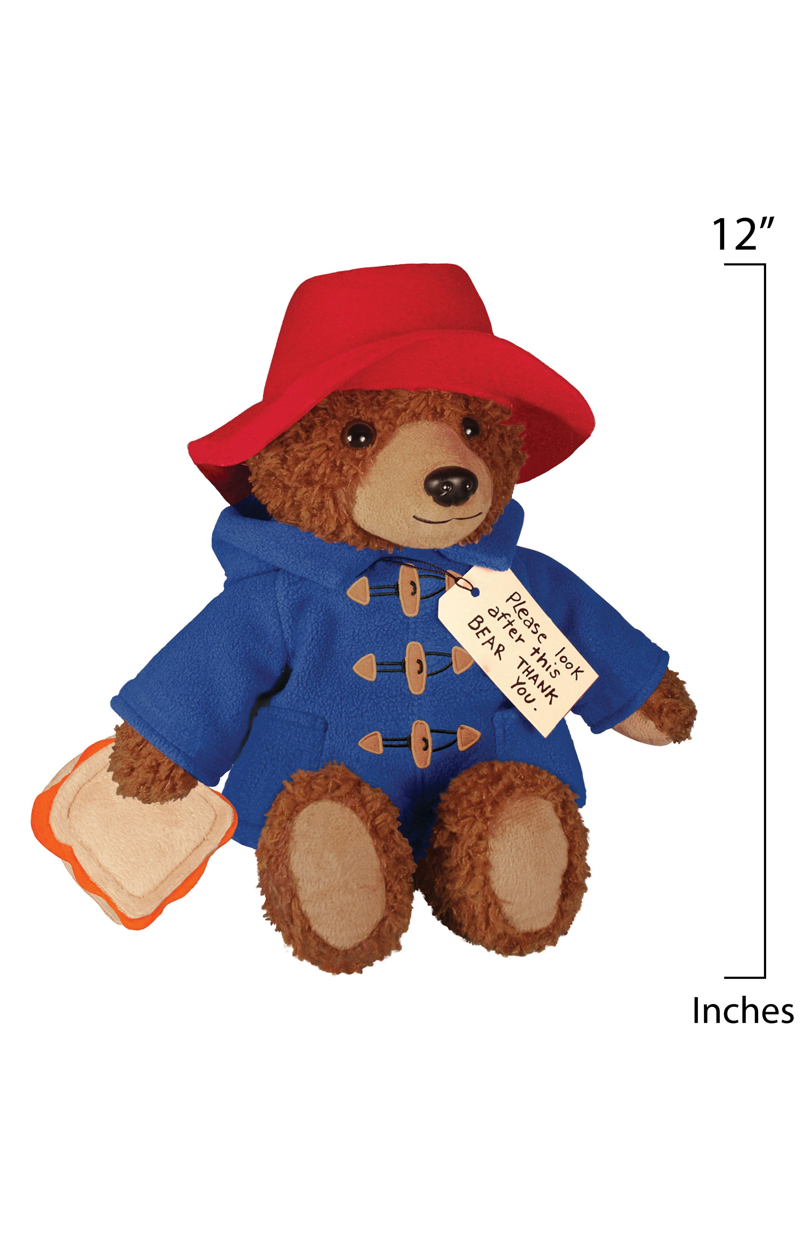Paddington Bear Stuffed Animal,                             Alternate thumbnail 2, color,                             Blue