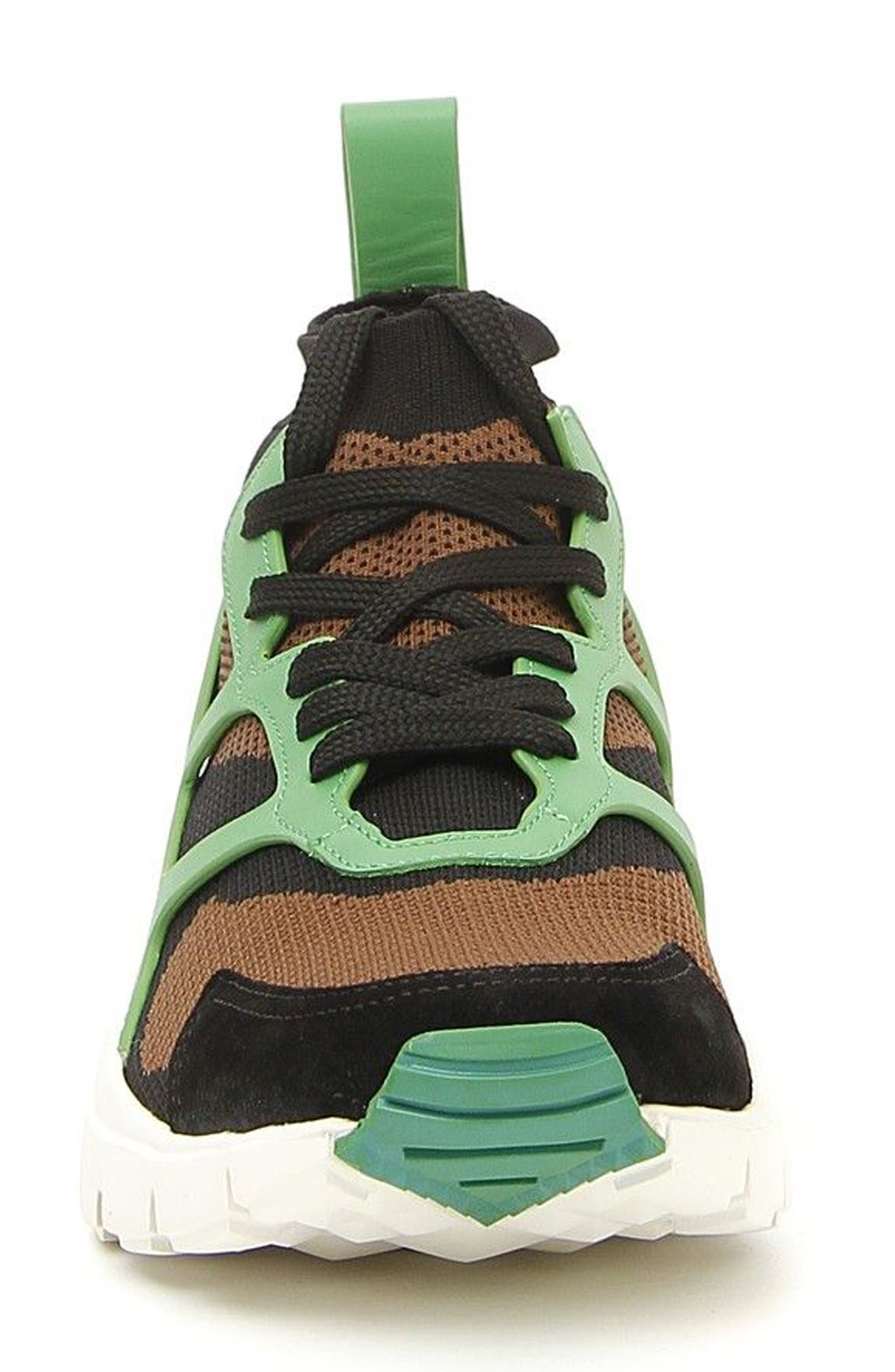 Sound High Sneaker,                             Alternate thumbnail 3, color,                             Army Green/ Nero/ Green