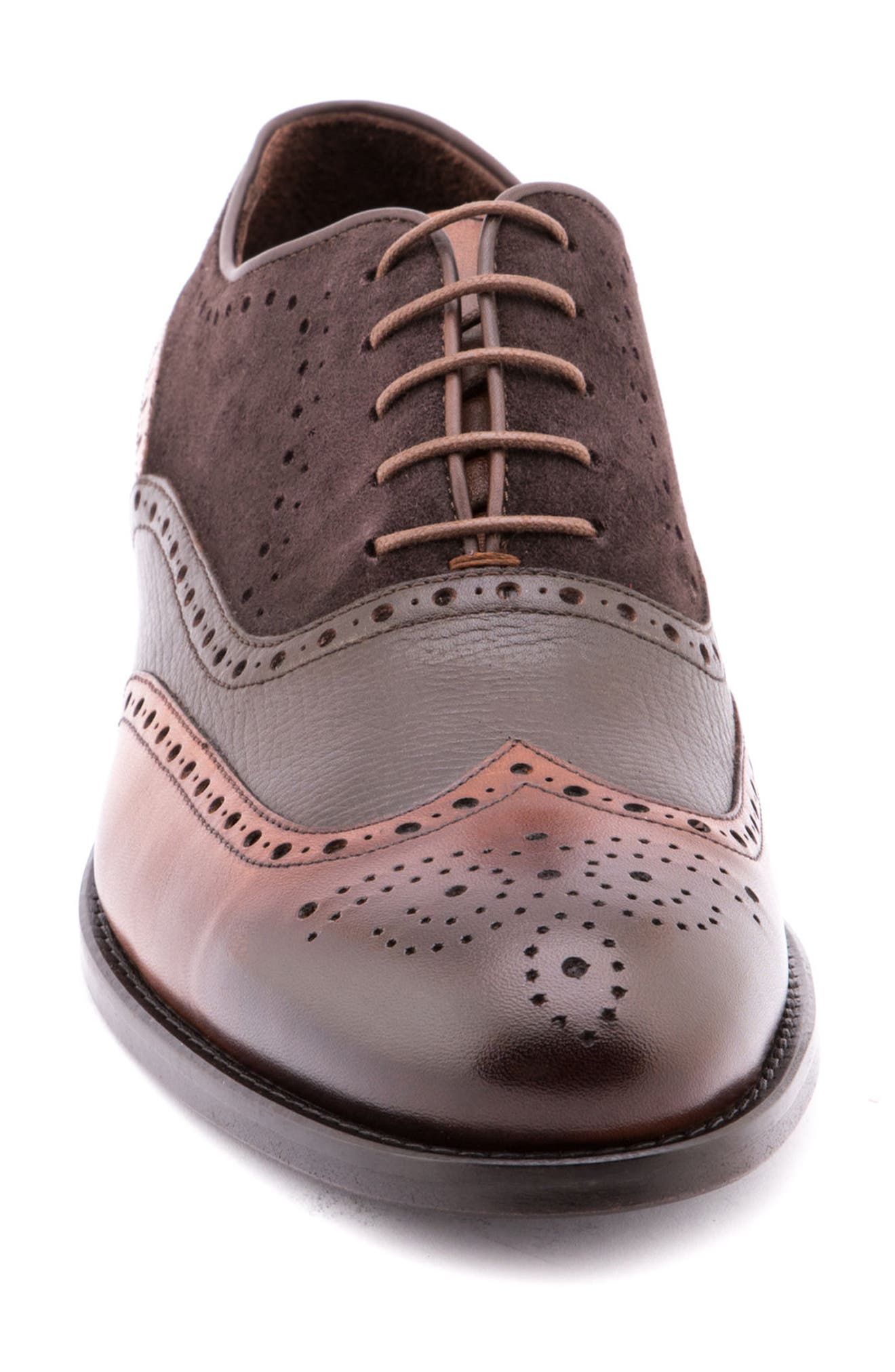 Sammy Wingtip,                             Alternate thumbnail 4, color,                             Brown
