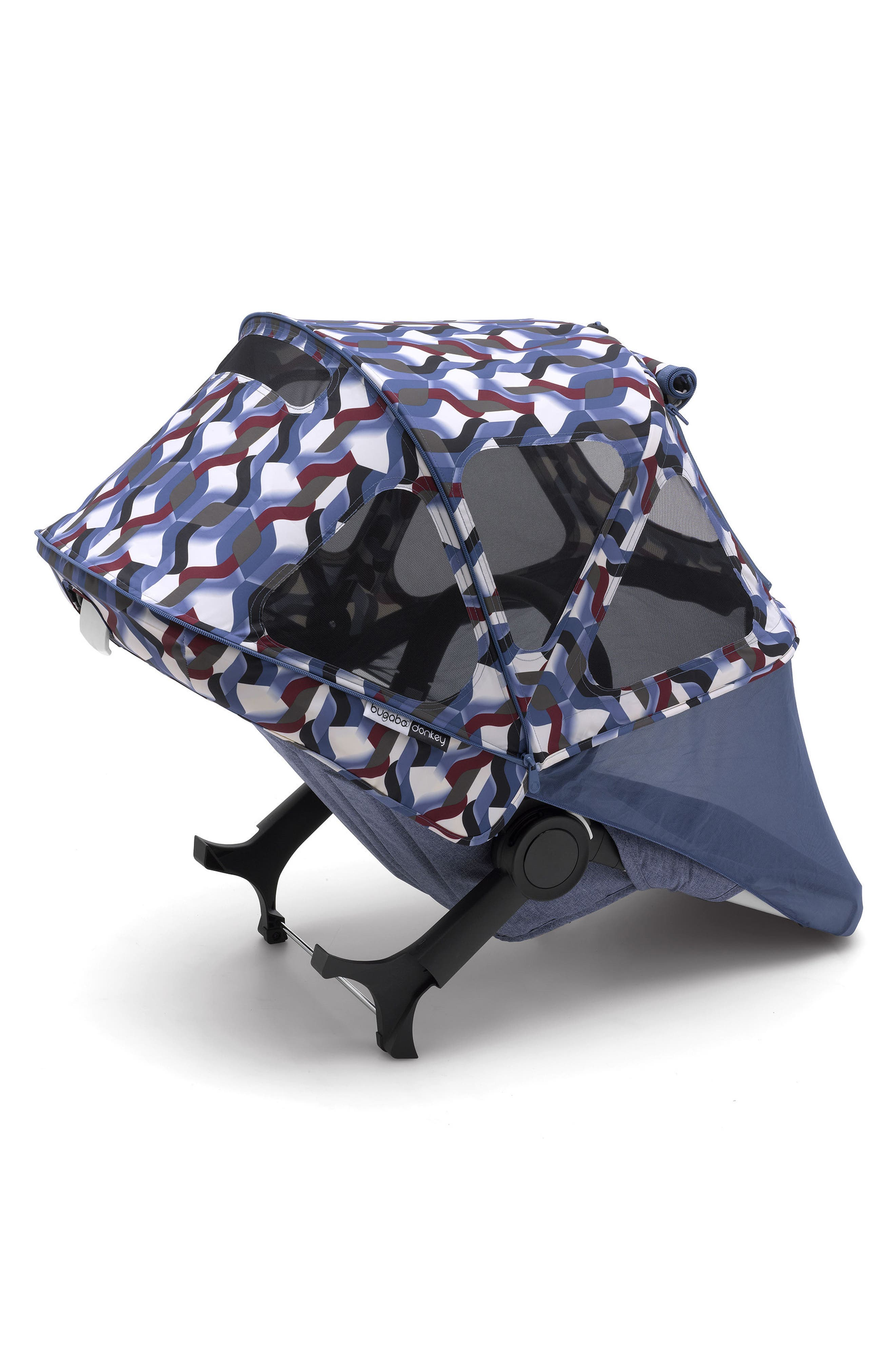 Breezy Framed Sun Canopy for Donkey2 Stroller,                             Main thumbnail 1, color,                             Waves