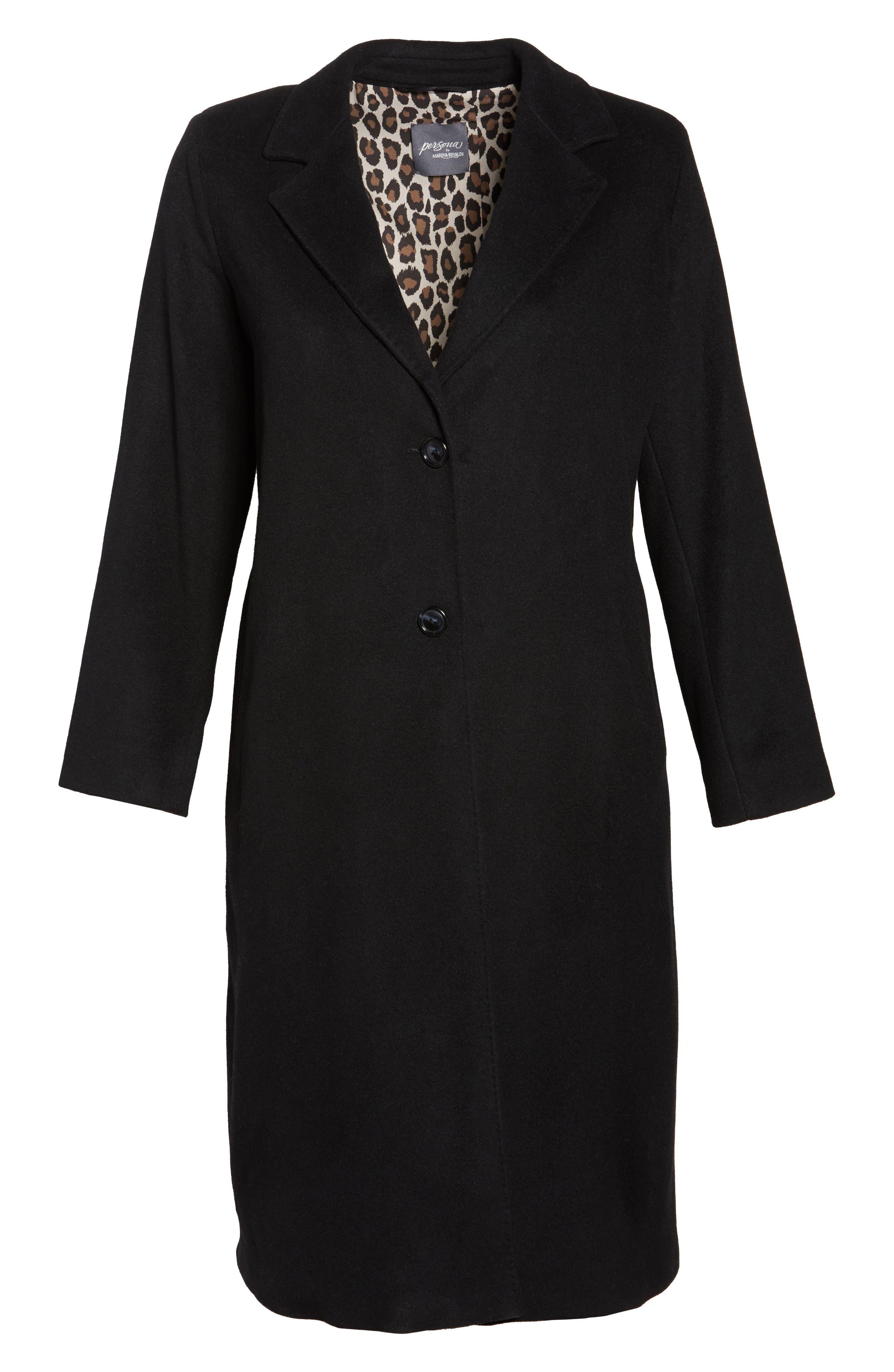 Tamigi Coat,                             Alternate thumbnail 5, color,                             Black