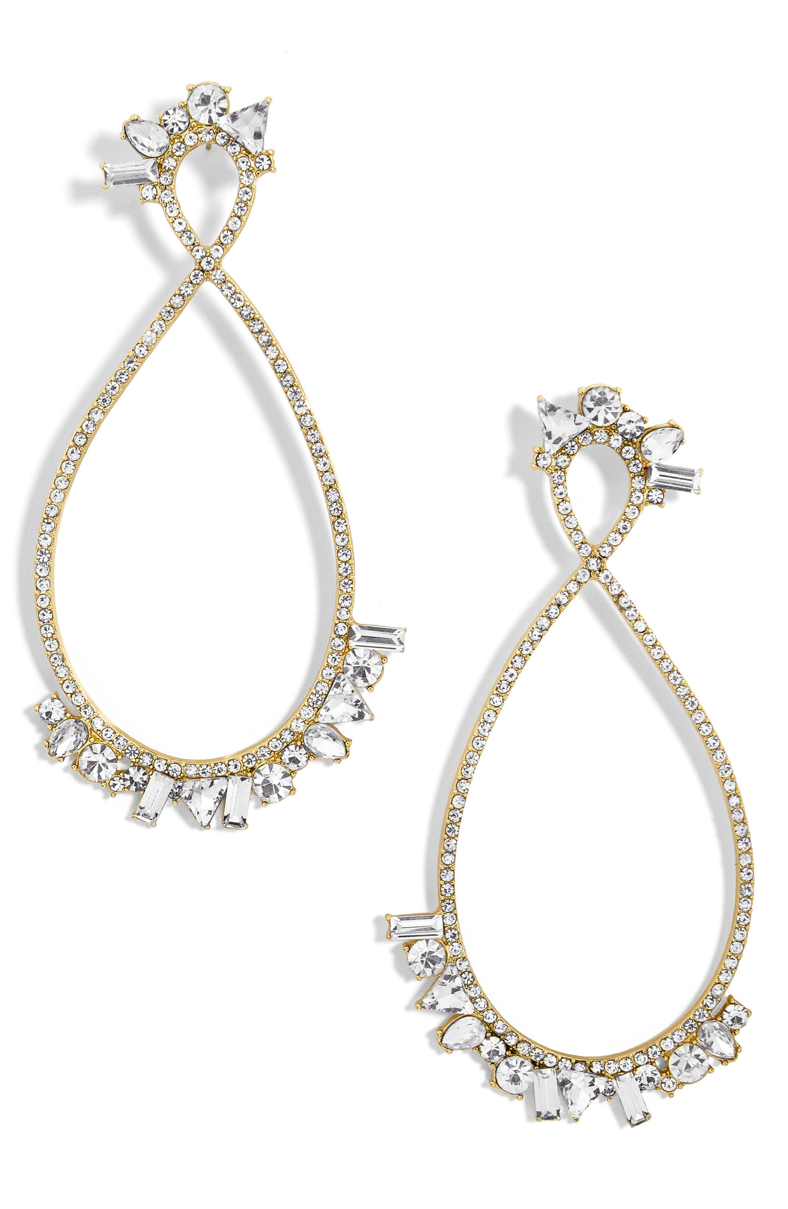 Alternate Image 1 Selected - BaubleBar Anastasia Hoop Earrings