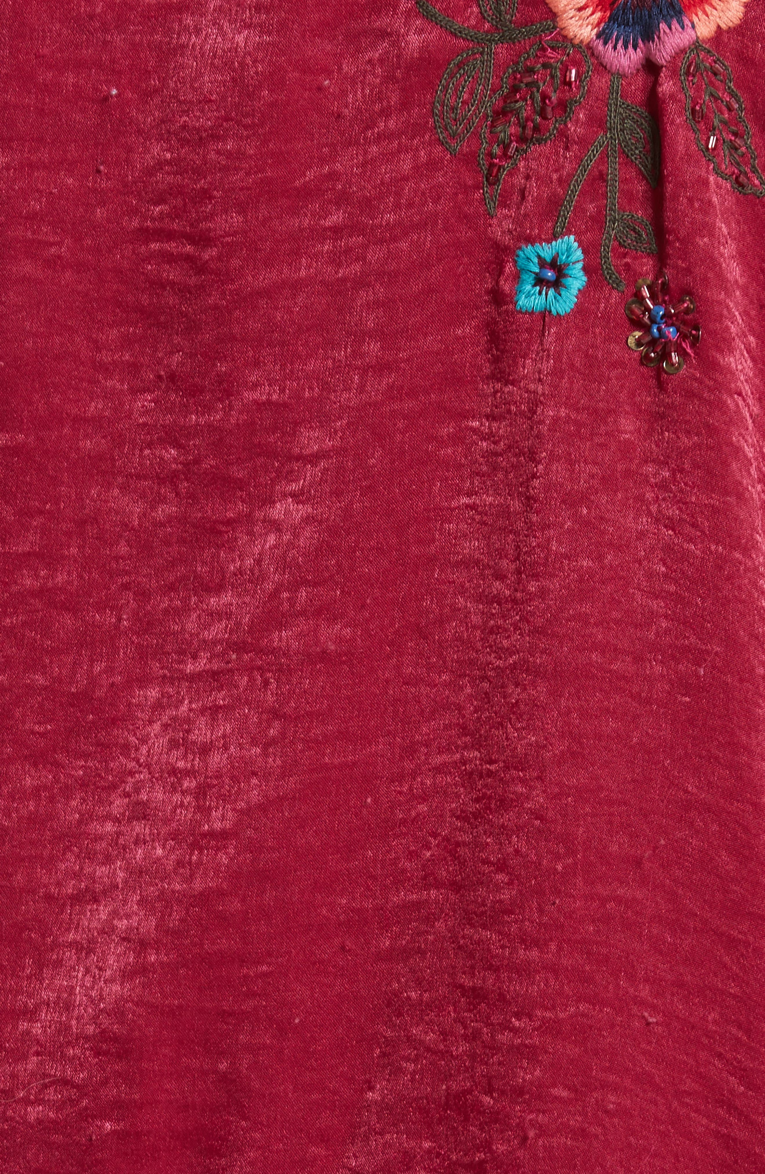 Ariel Kimono,                             Alternate thumbnail 5, color,                             Raspberry
