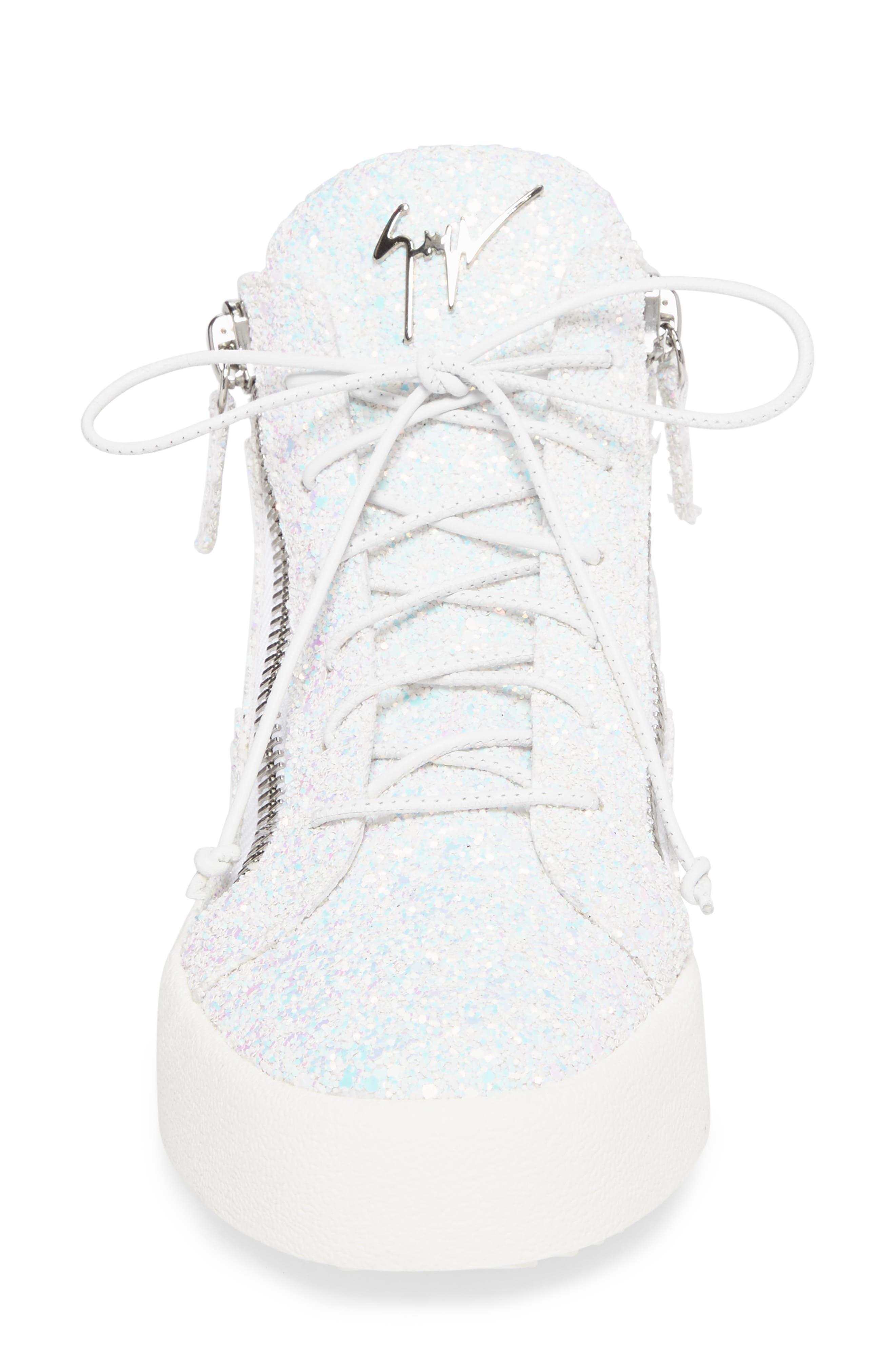 Alternate Image 4  - Giuseppe Zanotti May London High Top Sneaker (Women)