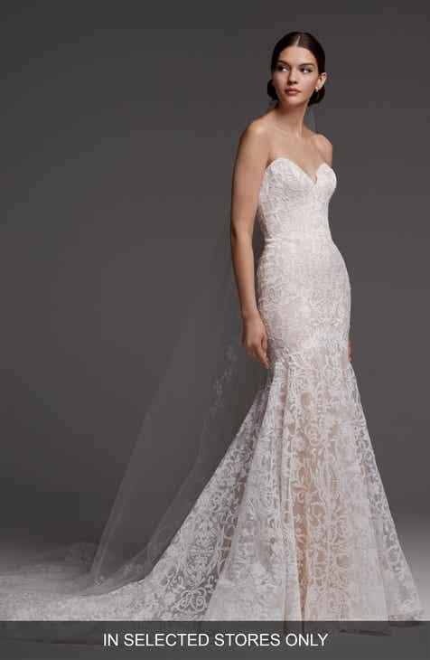Drop Waist Wedding Dresses Bridal Gowns Nordstrom