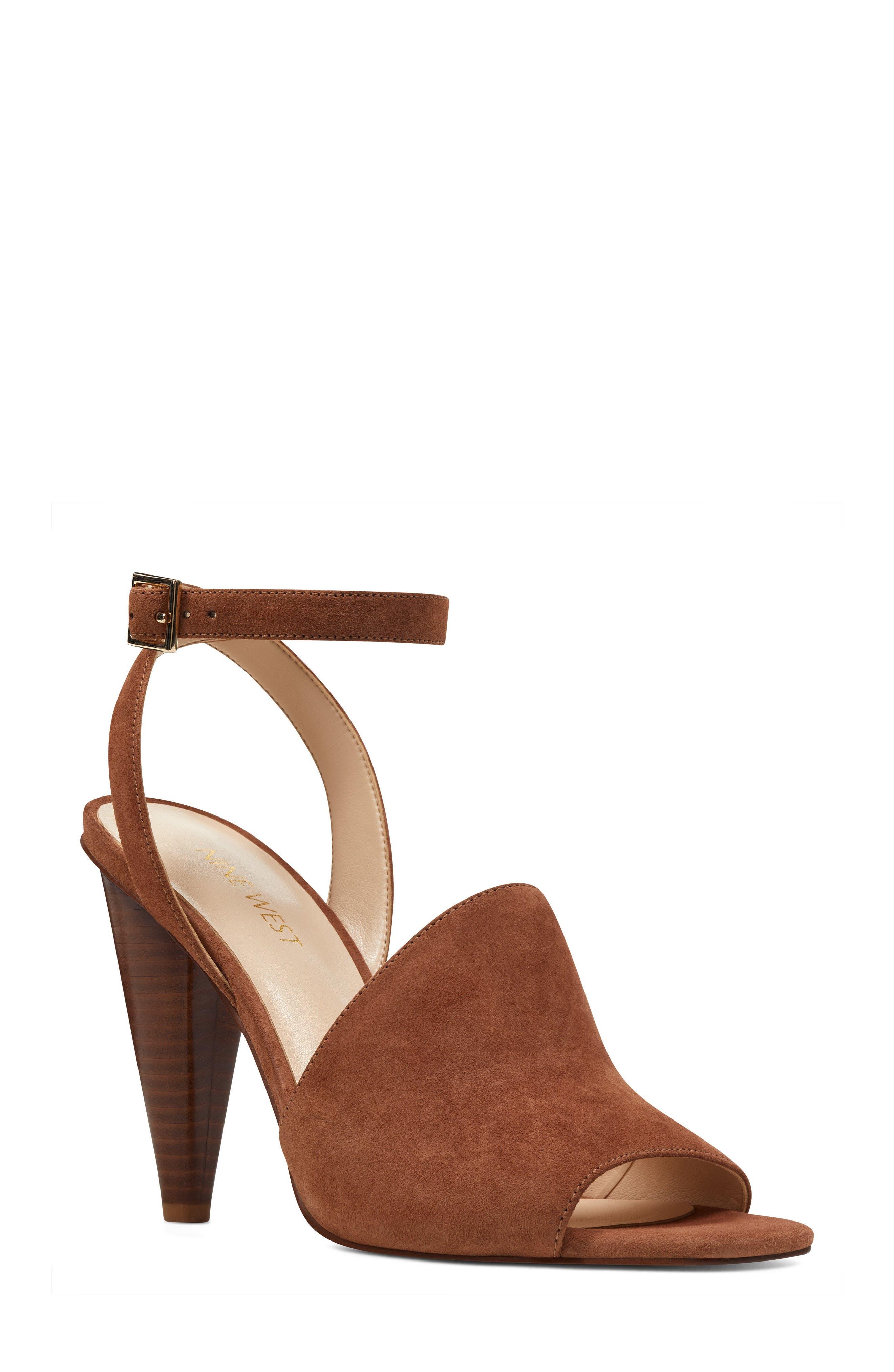 Nine West Quilty Ankle Strap Sandal (Women)