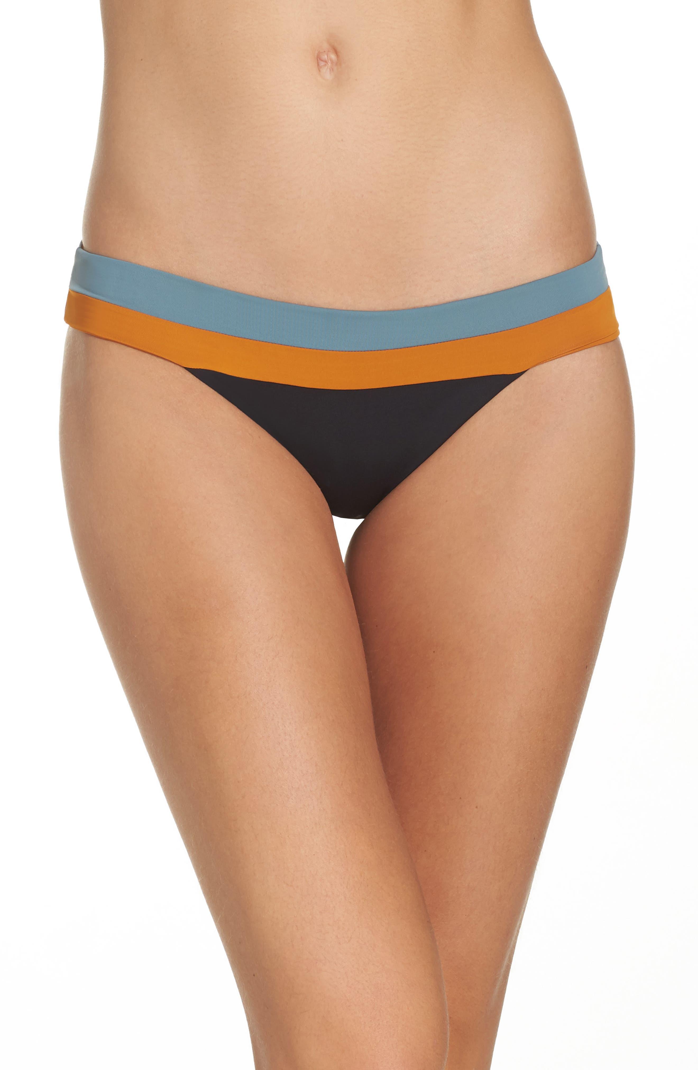 Veronica Bikini Bottoms,                         Main,                         color, Black