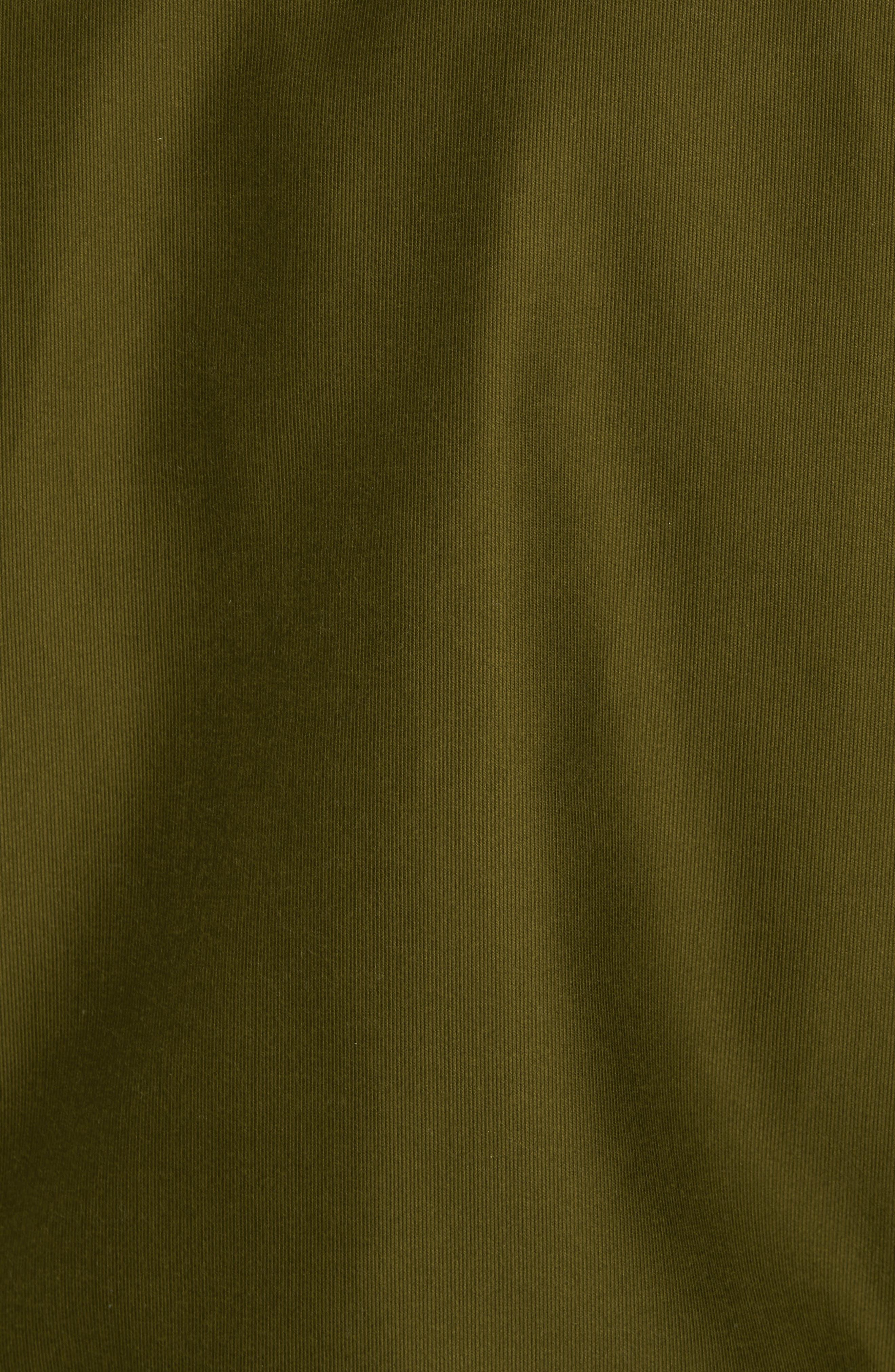 Alternate Image 5  - Schott NYC Faux Fur Collar Water-Repellent Corduroy Down Jacket
