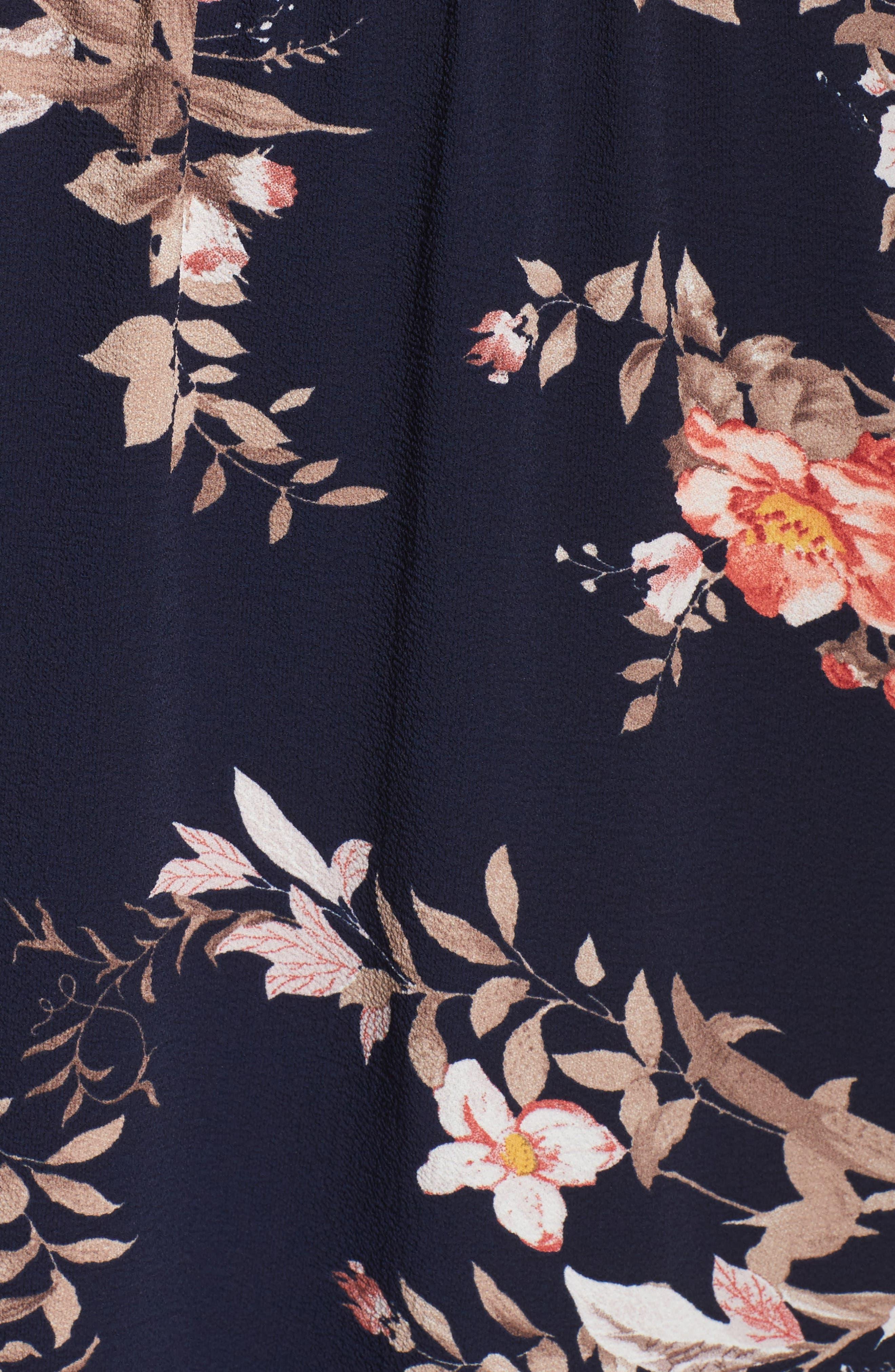 Alternate Image 3  - Fraiche by J Cold Shoulder Midi Dress
