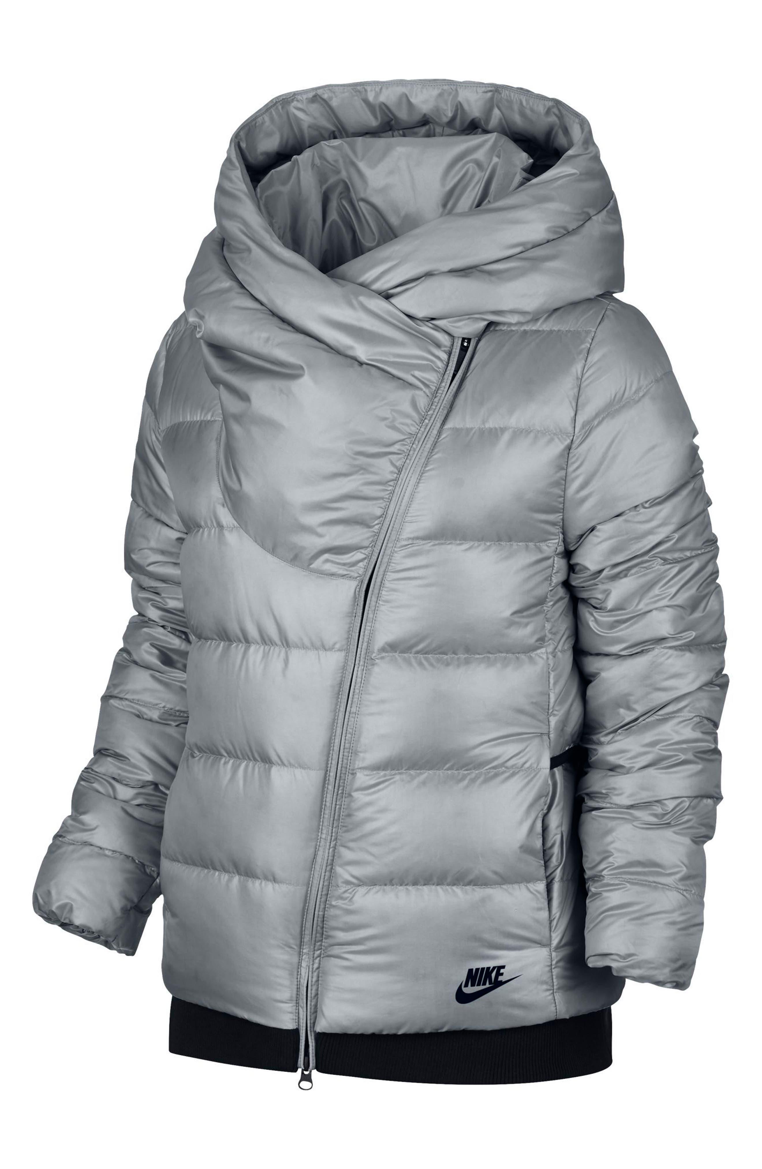 Alternate Image 8  - Nike Sportswear Women's Hooded Down Jacket